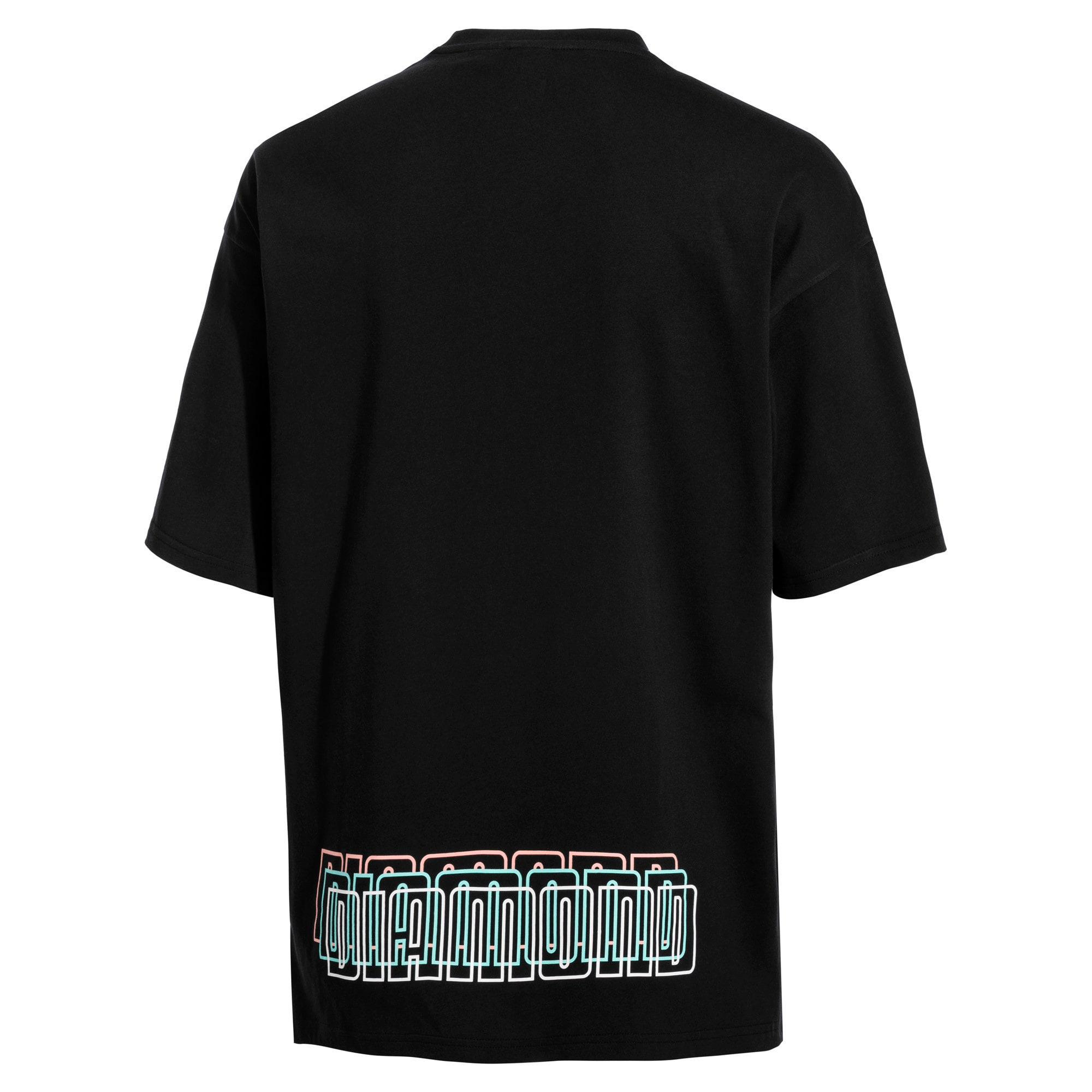 Thumbnail 5 of PUMA x DIAMOND T-shirt met korte mouwen voor heren, Puma Black, medium