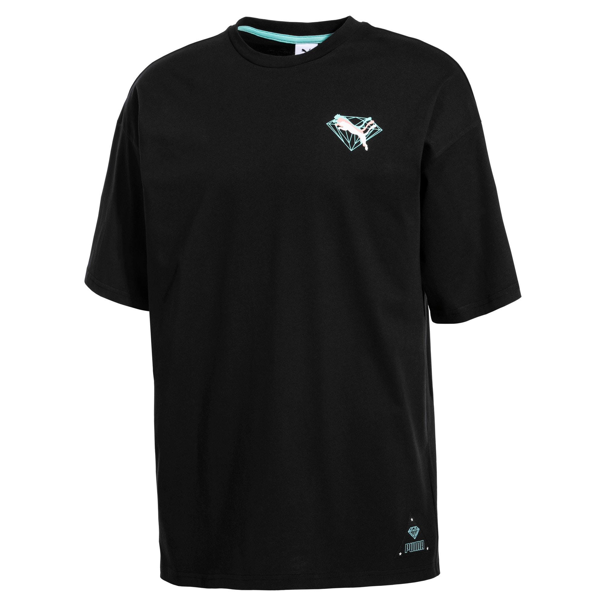 Thumbnail 4 of PUMA x DIAMOND T-shirt met korte mouwen voor heren, Puma Black, medium