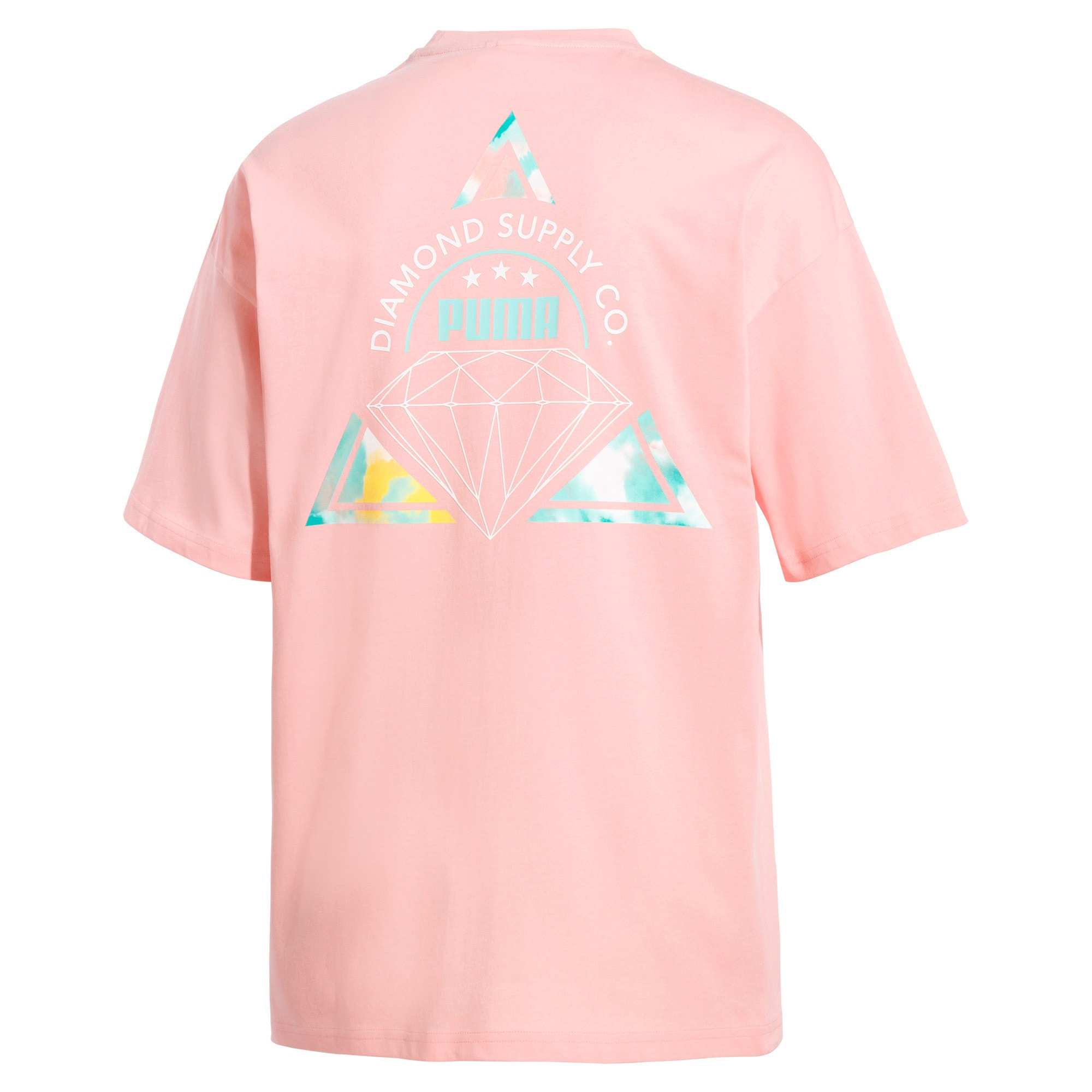 Thumbnail 4 van PUMA x DIAMOND T-shirt met korte mouwen voor heren, Peach Bud, medium