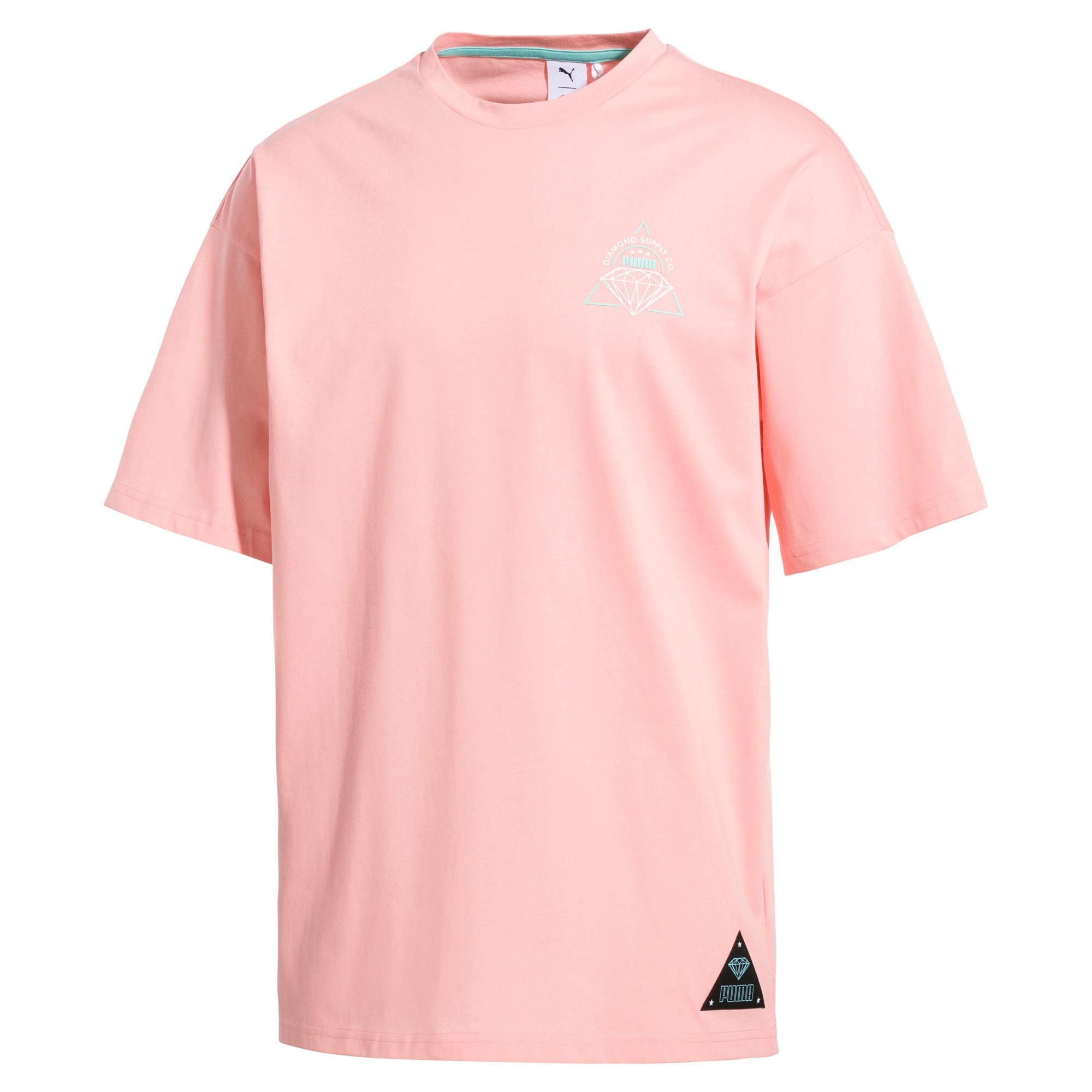 Thumbnail 1 of PUMA x DIAMOND T-shirt met korte mouwen voor heren, Peach Bud, medium