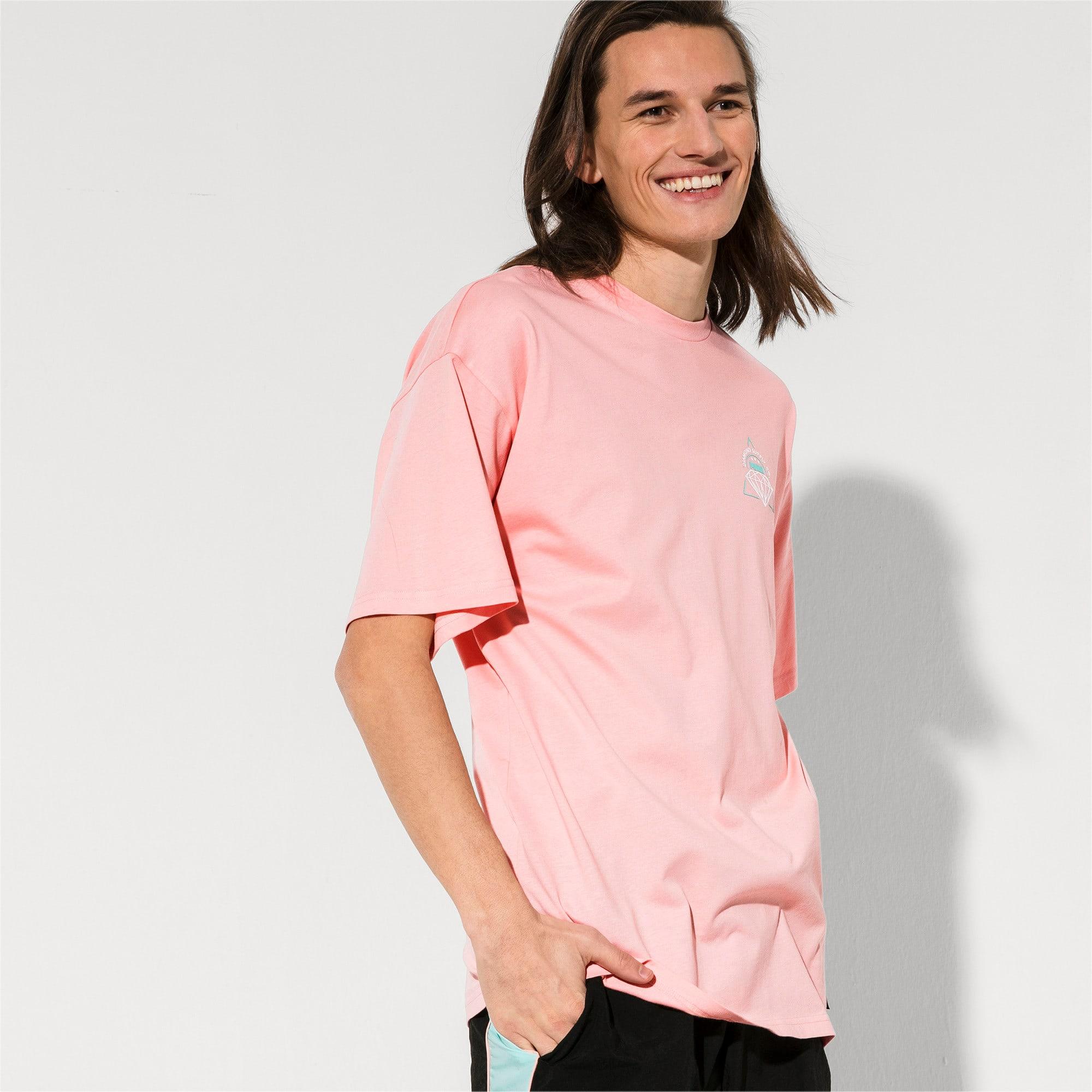 Thumbnail 2 of PUMA x DIAMOND T-shirt met korte mouwen voor heren, Peach Bud, medium
