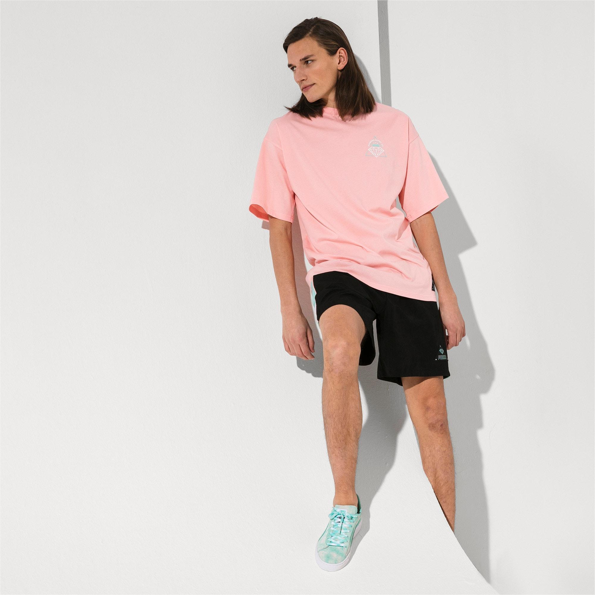 Thumbnail 5 of PUMA x DIAMOND T-shirt met korte mouwen voor heren, Peach Bud, medium