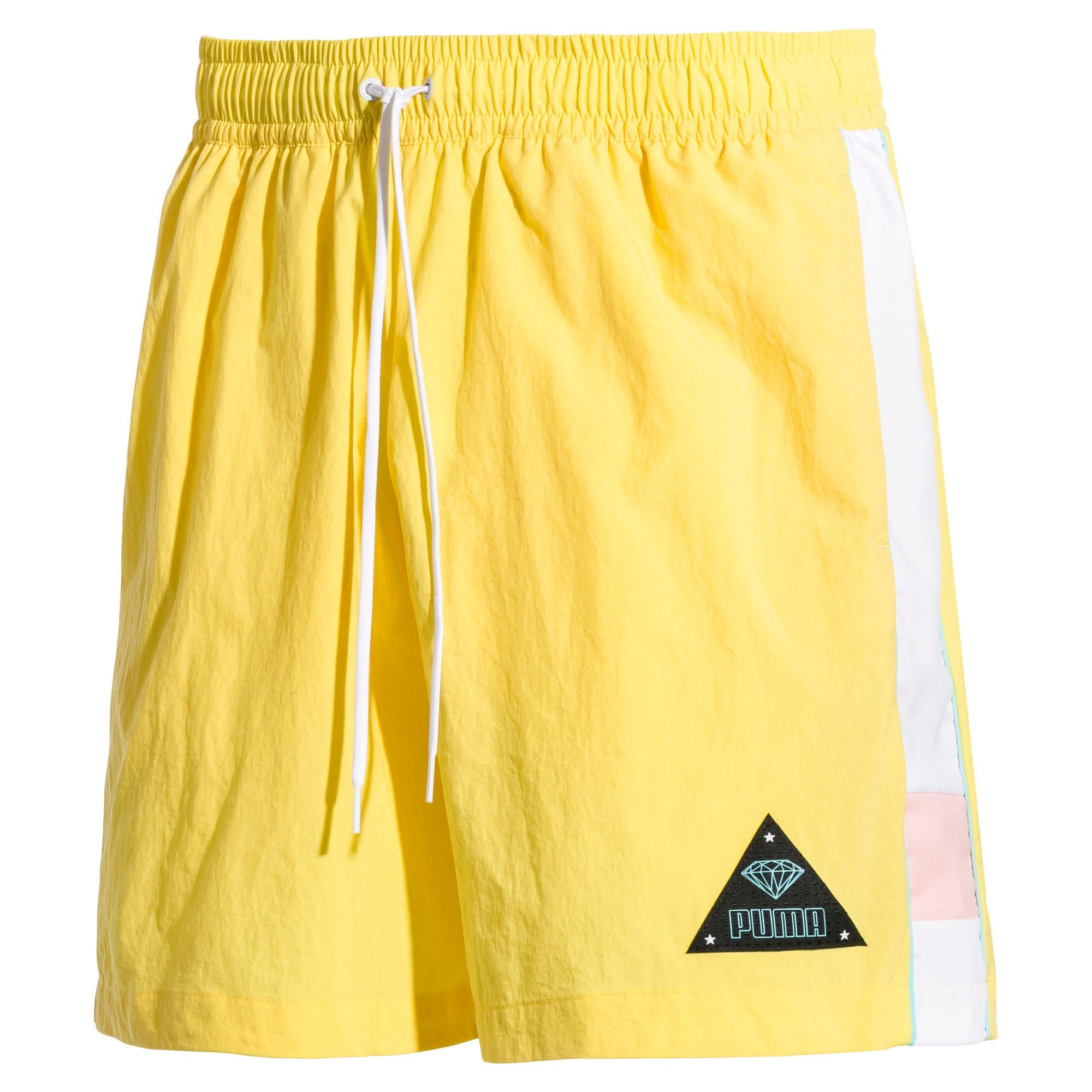 Thumbnail 1 of PUMA x DIAMOND Men's Shorts, Lemon Zest, medium