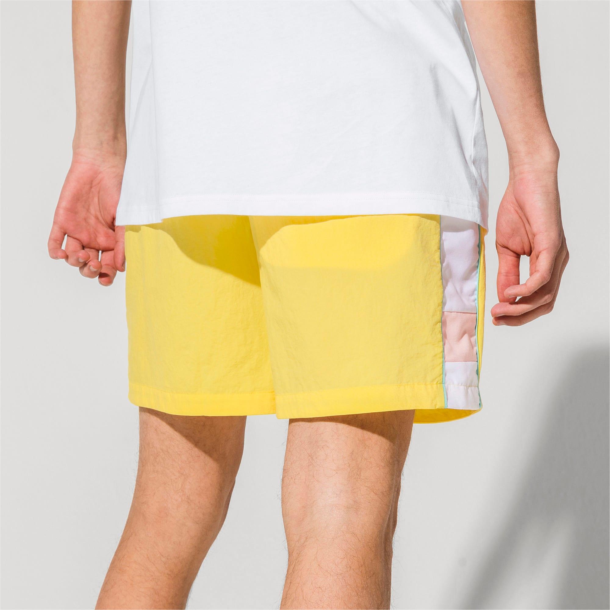 Thumbnail 3 of PUMA x DIAMOND Men's Shorts, Lemon Zest, medium