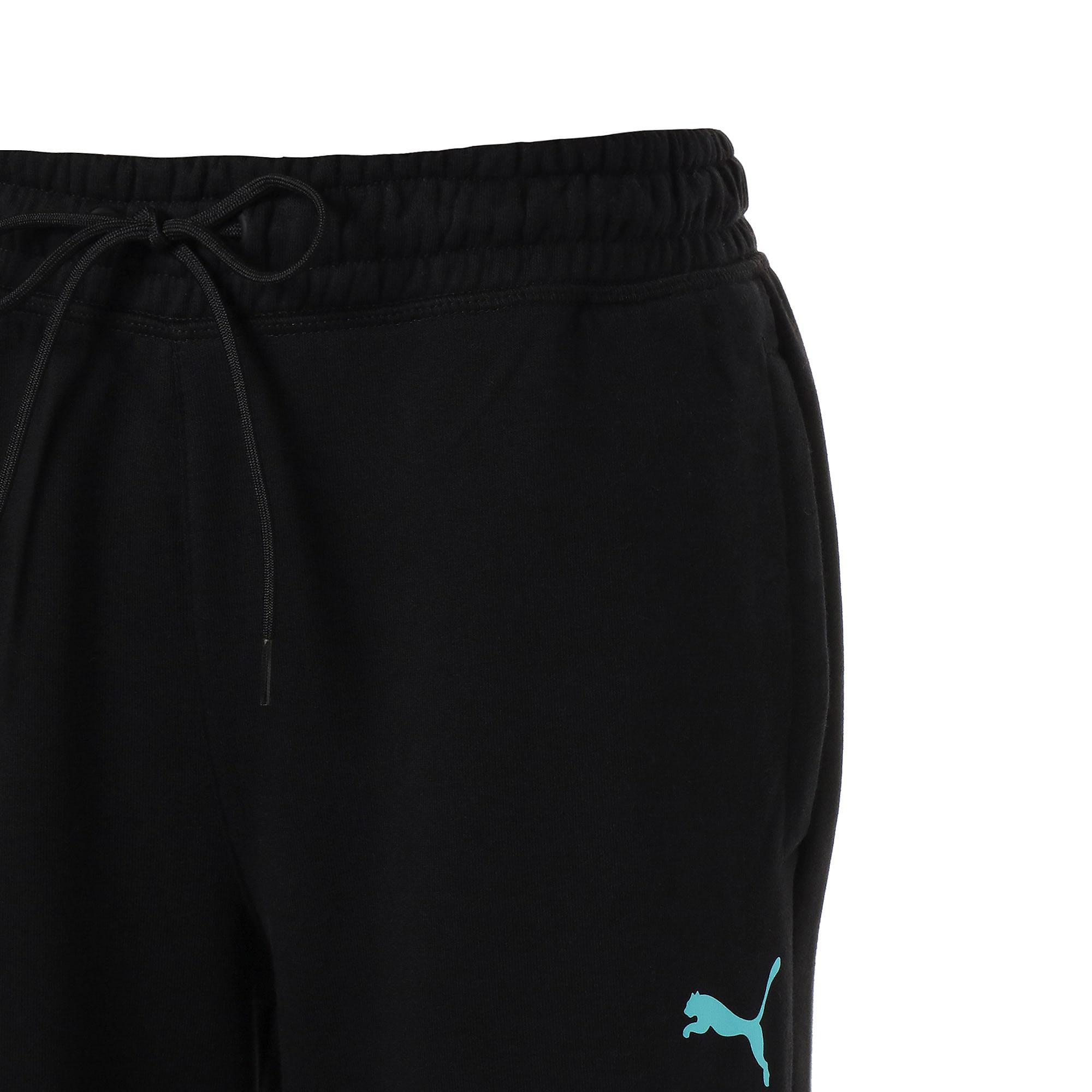 Thumbnail 4 of MCS POOL TRACK PANTS, Puma Black, medium-JPN