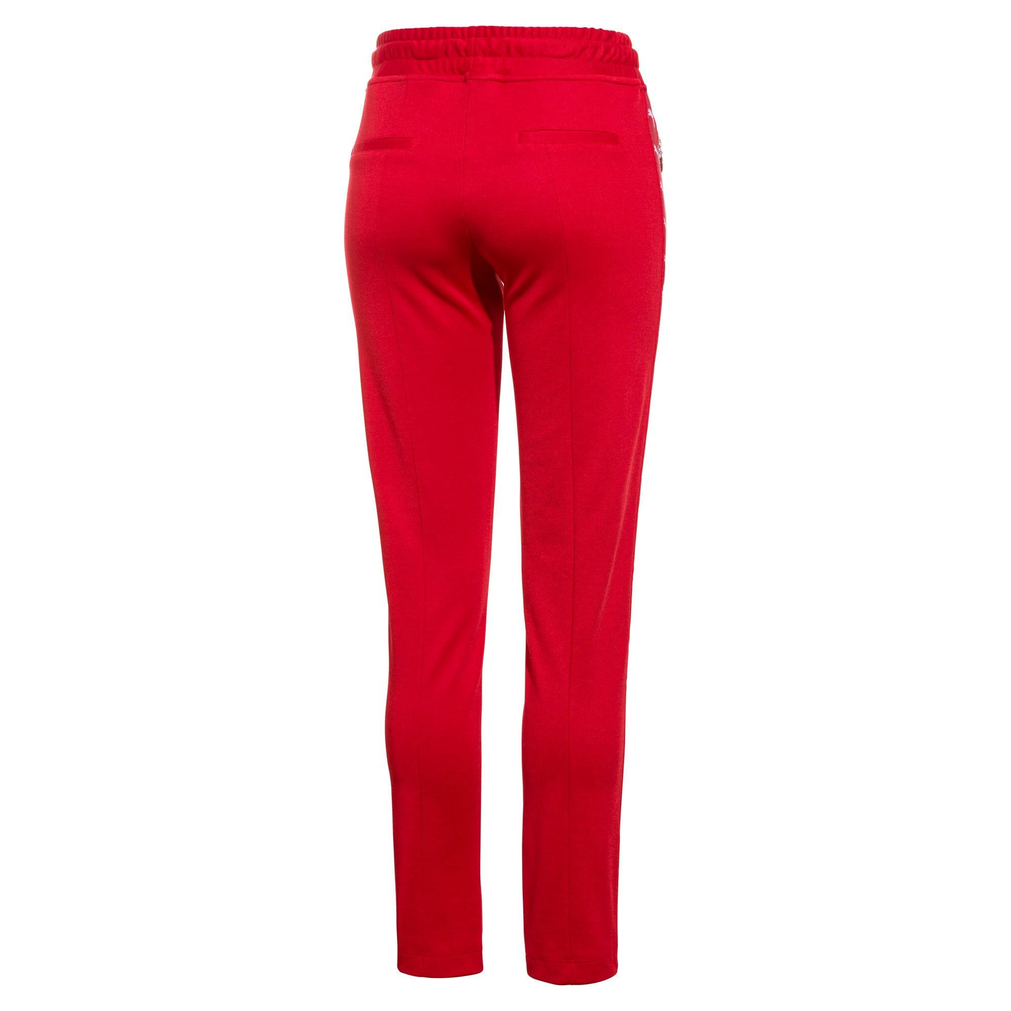 Thumbnail 2 of PUMA x THE KOOPLES Women's Track Pants, High Risk Red, medium