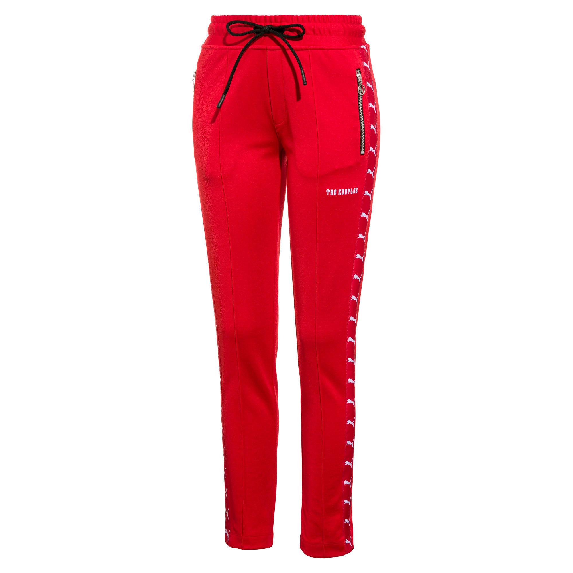 Thumbnail 1 of PUMA x THE KOOPLES Women's Track Pants, High Risk Red, medium