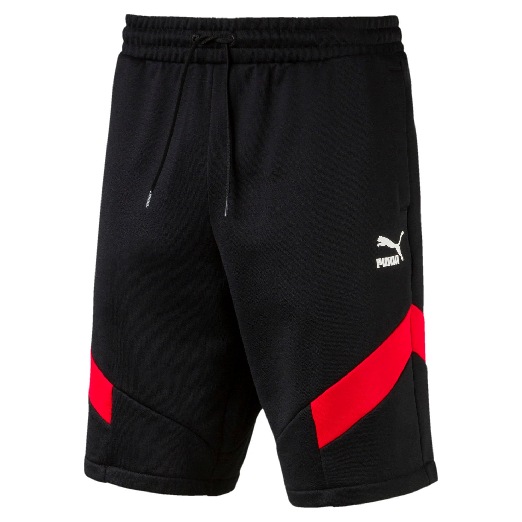 "Thumbnail 4 of Iconic MCS Knitted 10"" Men's Shorts, Puma Black, medium-IND"