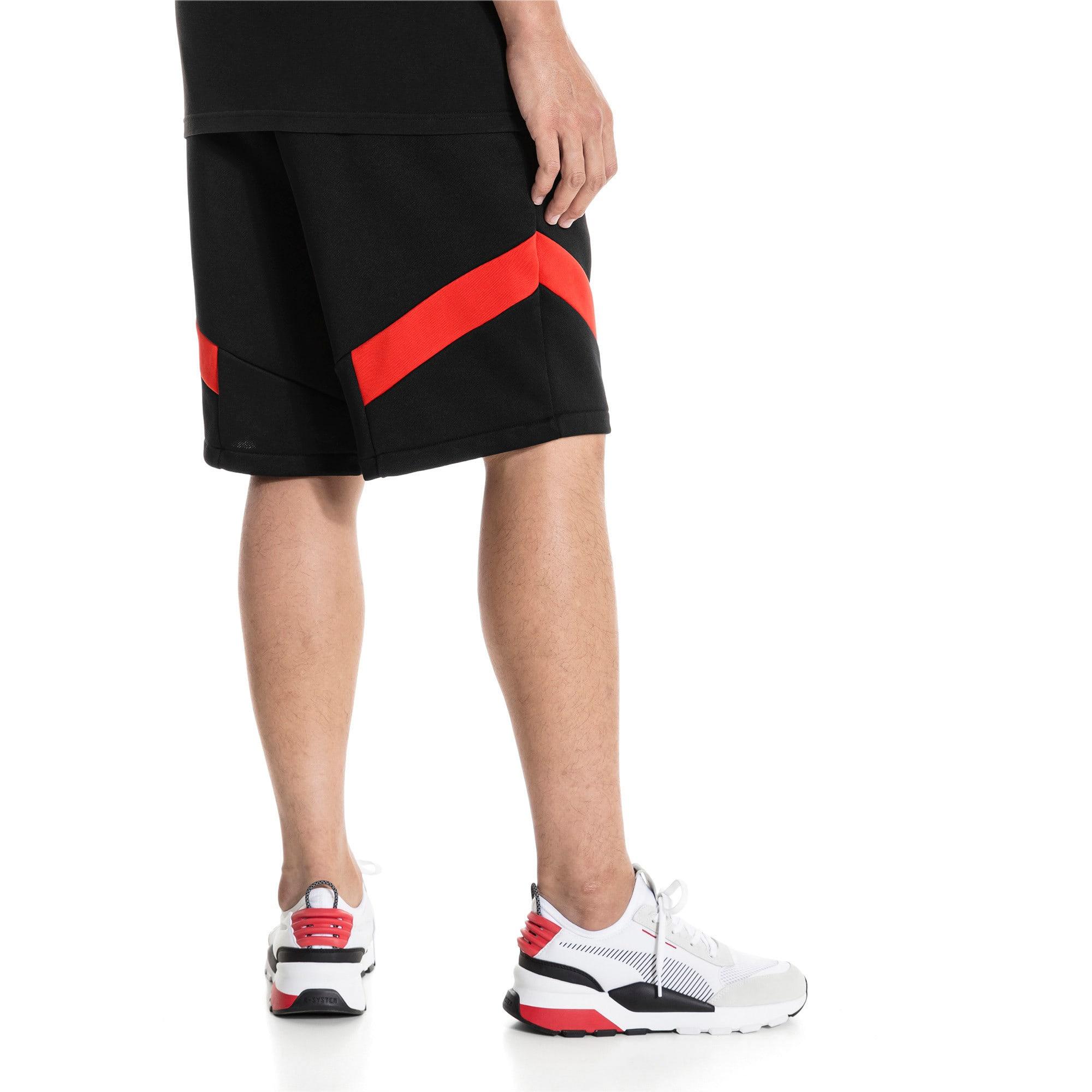 "Thumbnail 2 of Iconic MCS Knitted 10"" Men's Shorts, Puma Black, medium-IND"