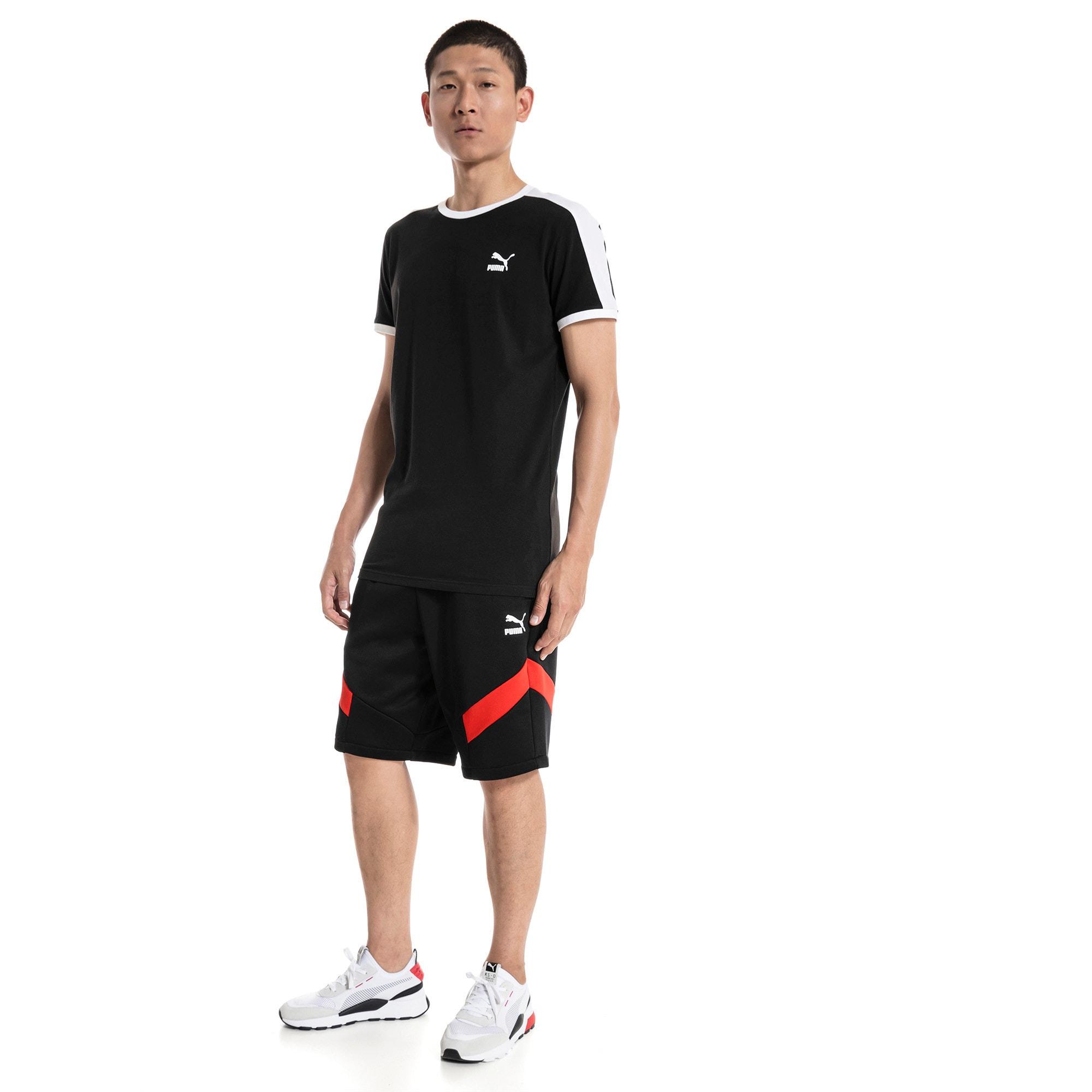 "Thumbnail 3 of Iconic MCS Knitted 10"" Men's Shorts, Puma Black, medium-IND"