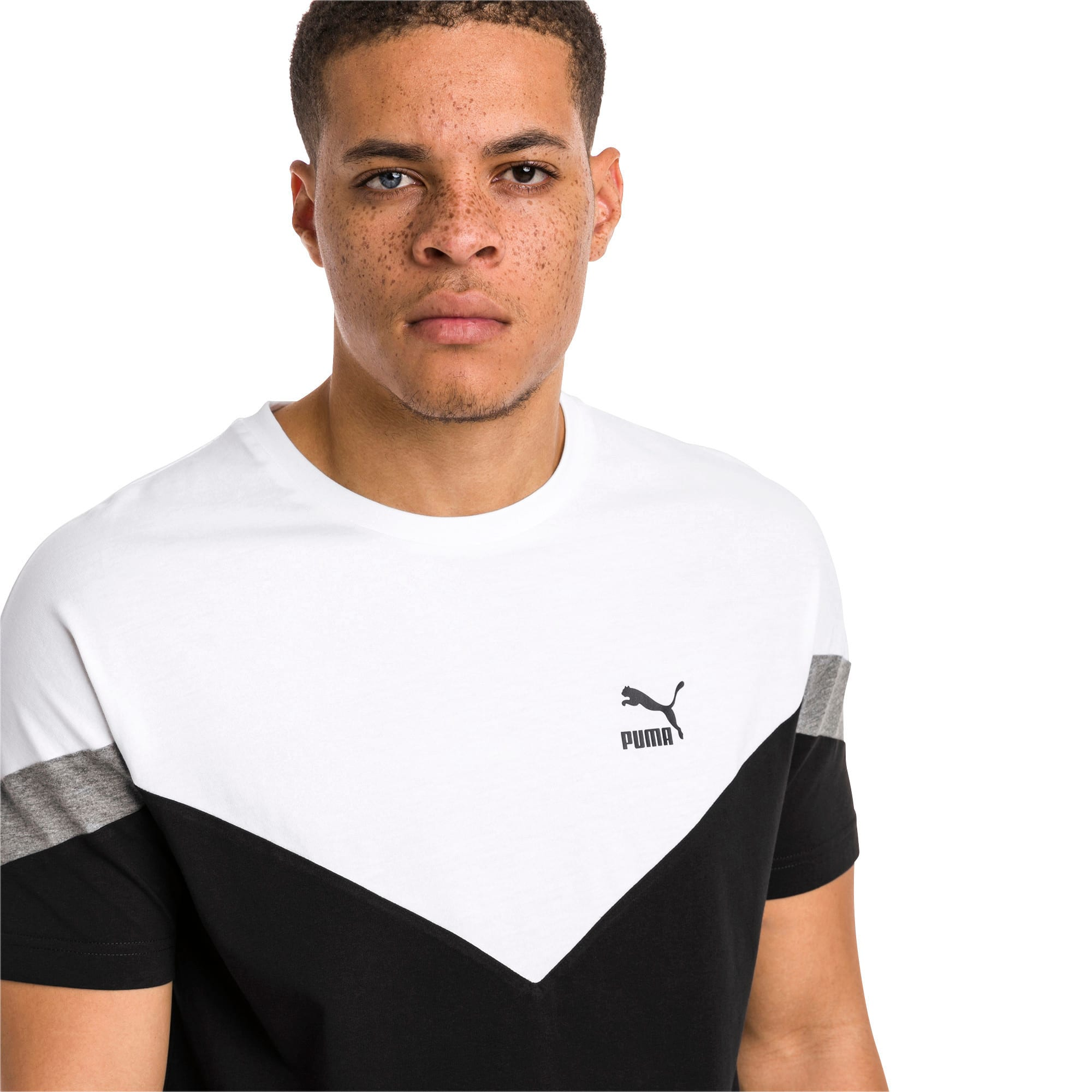 Thumbnail 2 of Iconic MCS Men's Tee, Cotton Black, medium-IND