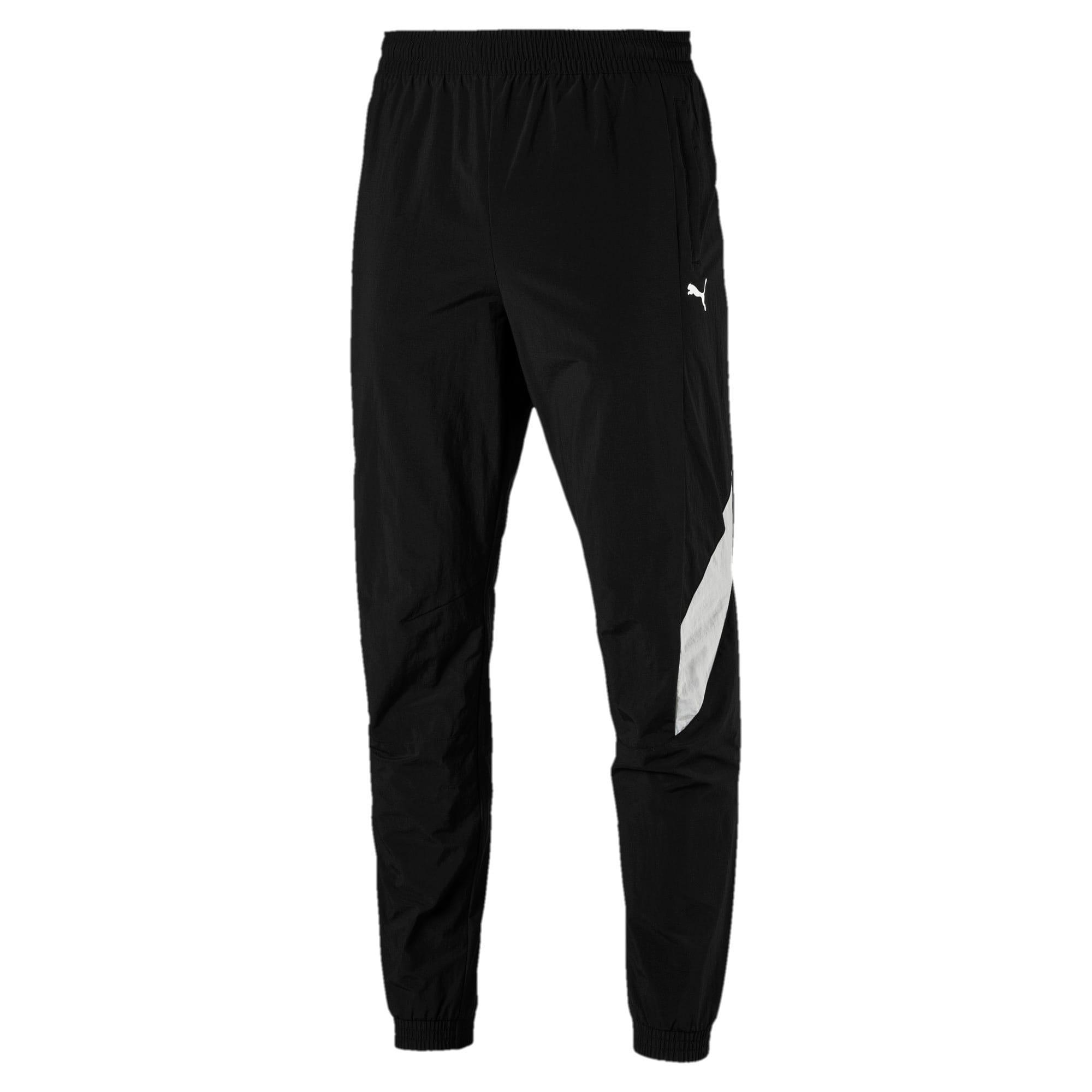 Thumbnail 1 of MERCEDES AMG PETRONAS Men's Woven Pants, Puma Black, medium