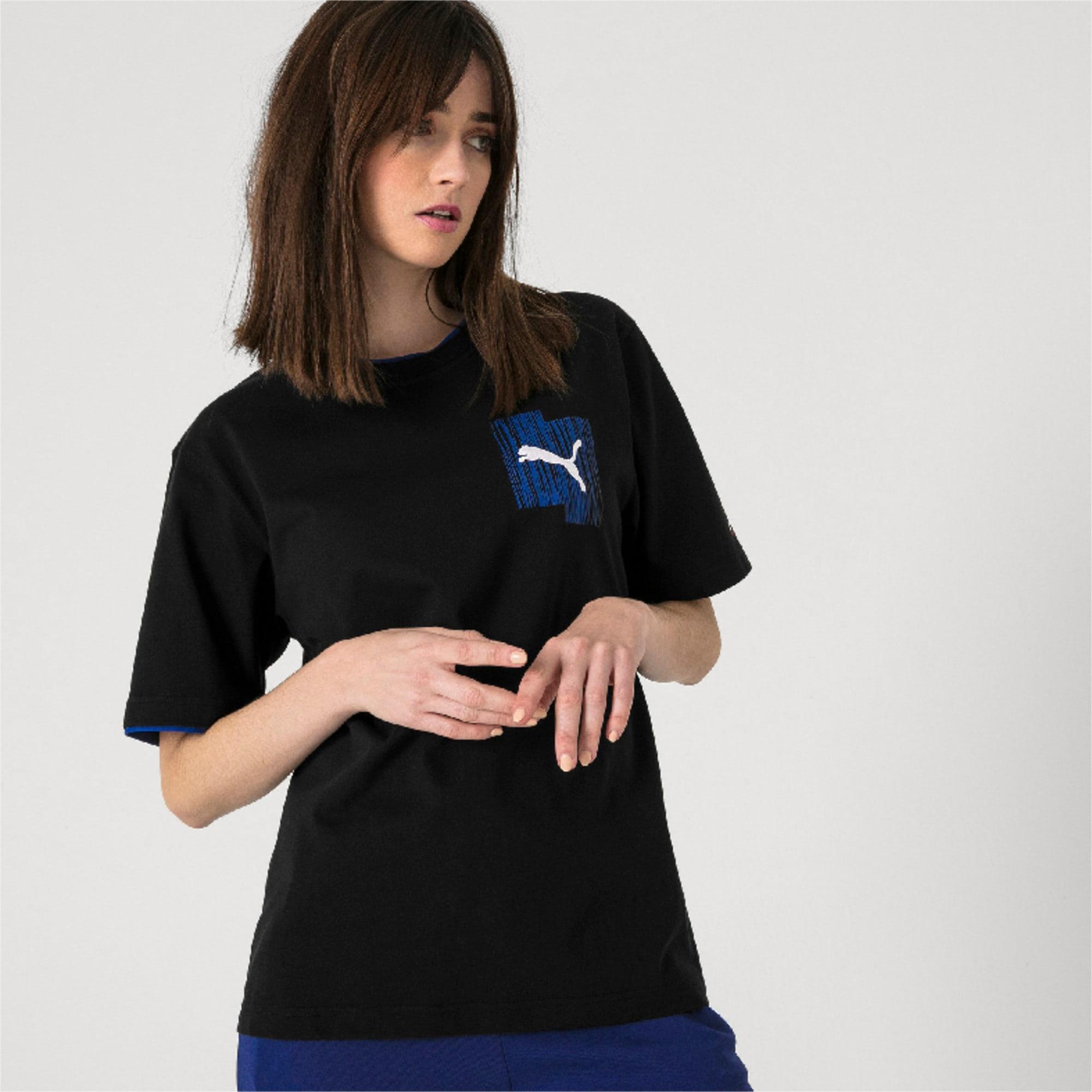 Thumbnail 6 van PUMA x ADER T-shirt, Cotton Black, medium