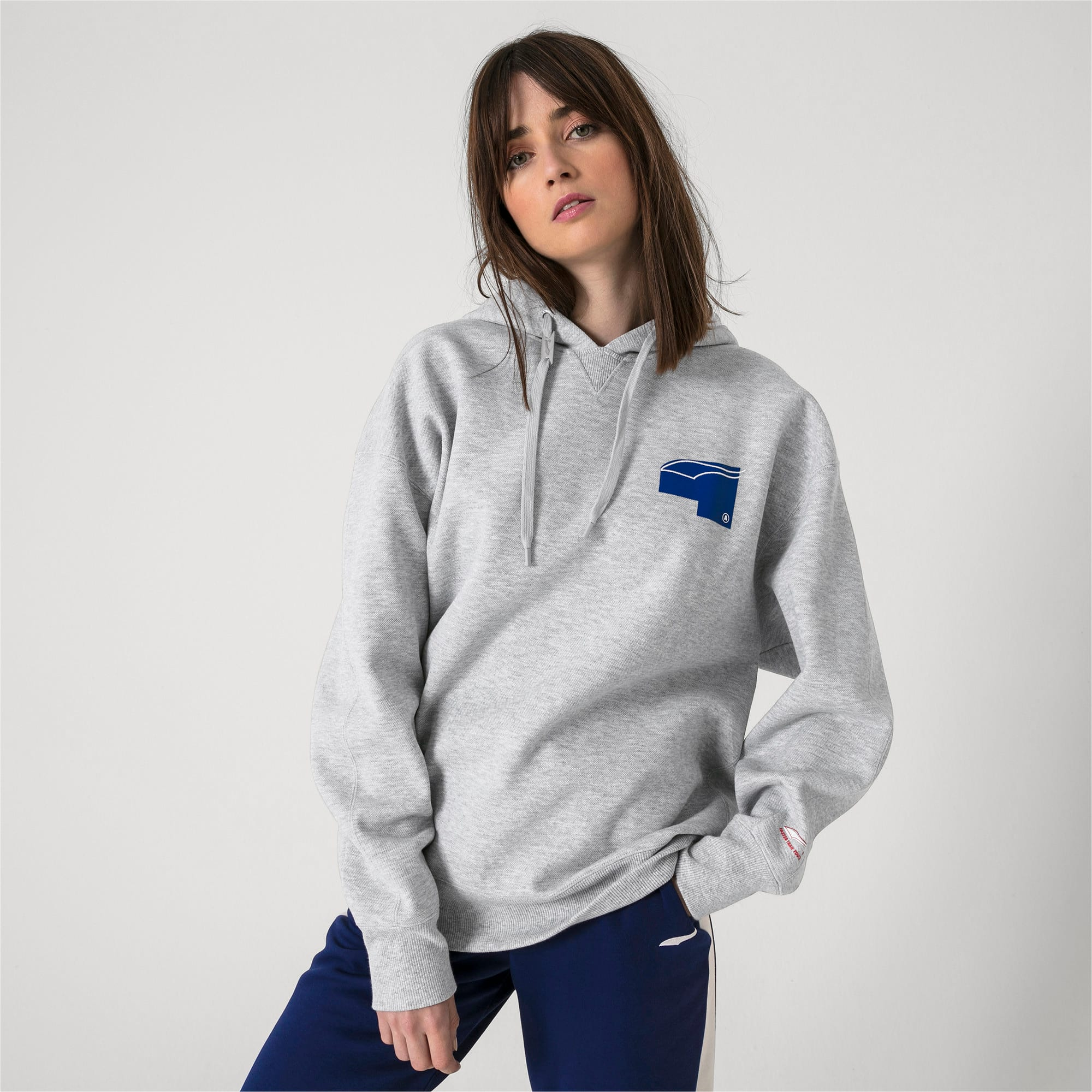 Thumbnail 6 of PUMA x ADER ERROR hoodie, Light Gray Heather, medium