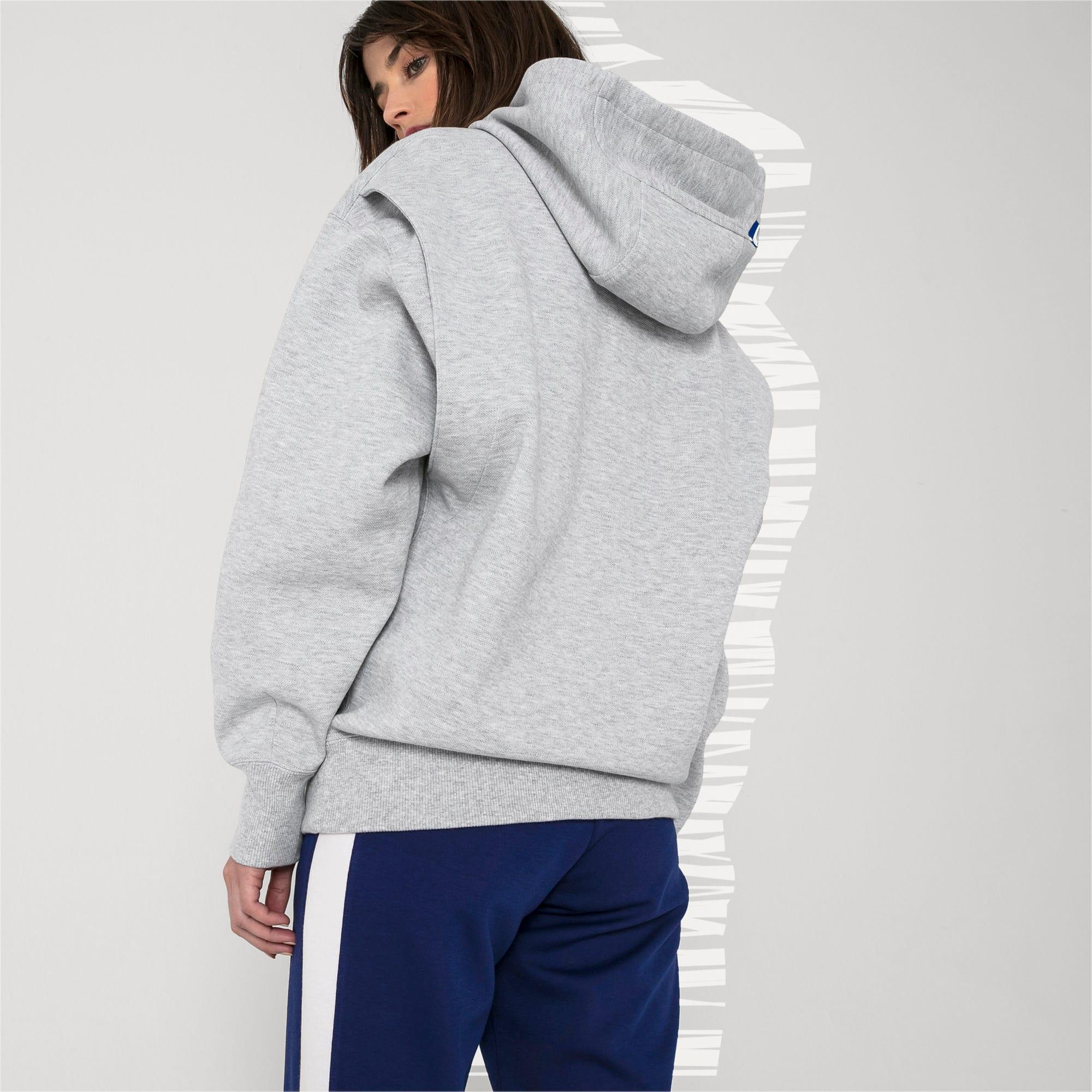Thumbnail 7 of PUMA x ADER ERROR hoodie, Light Gray Heather, medium