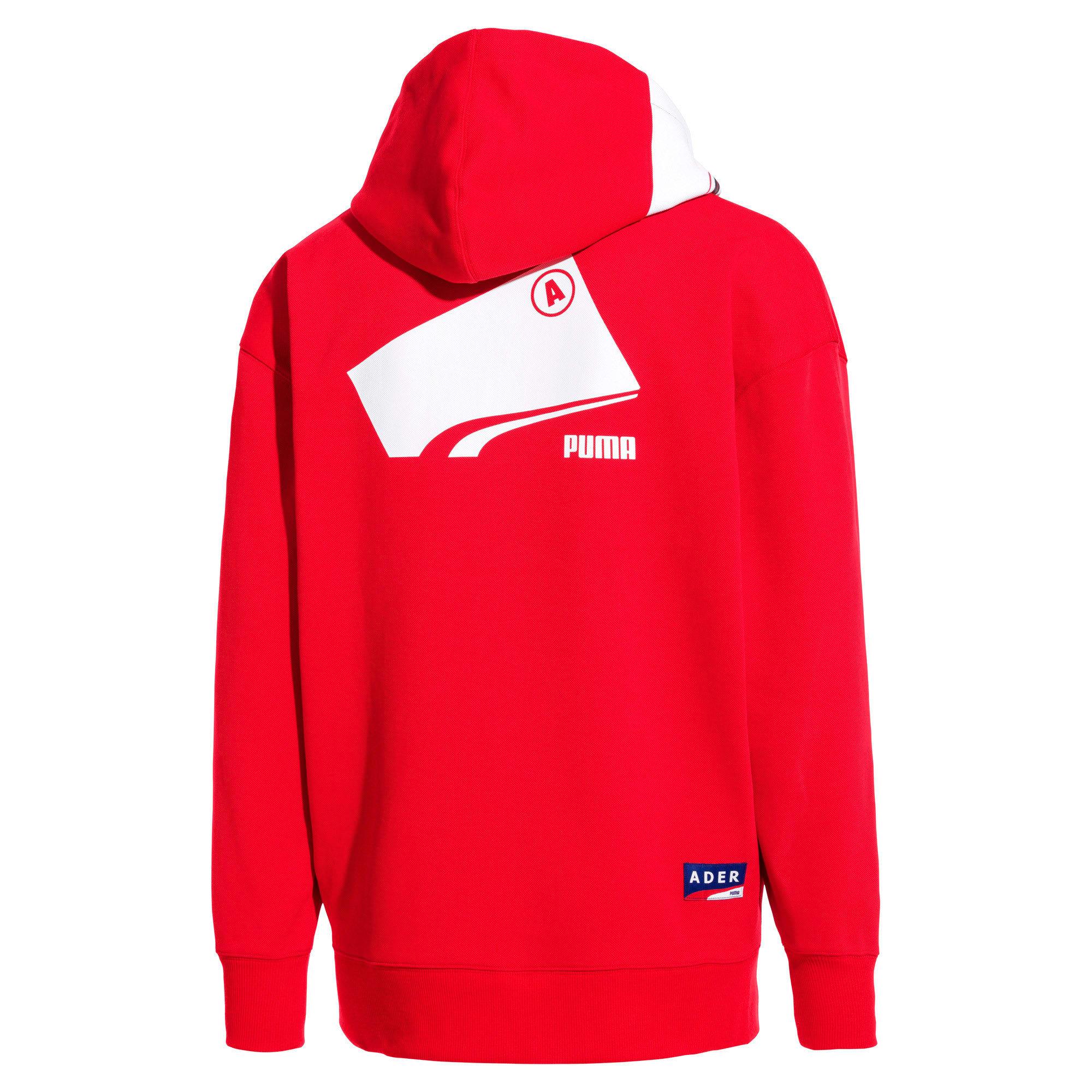 Thumbnail 4 van PUMA x ADER ERROR hoodie met rits, Puma Red, medium