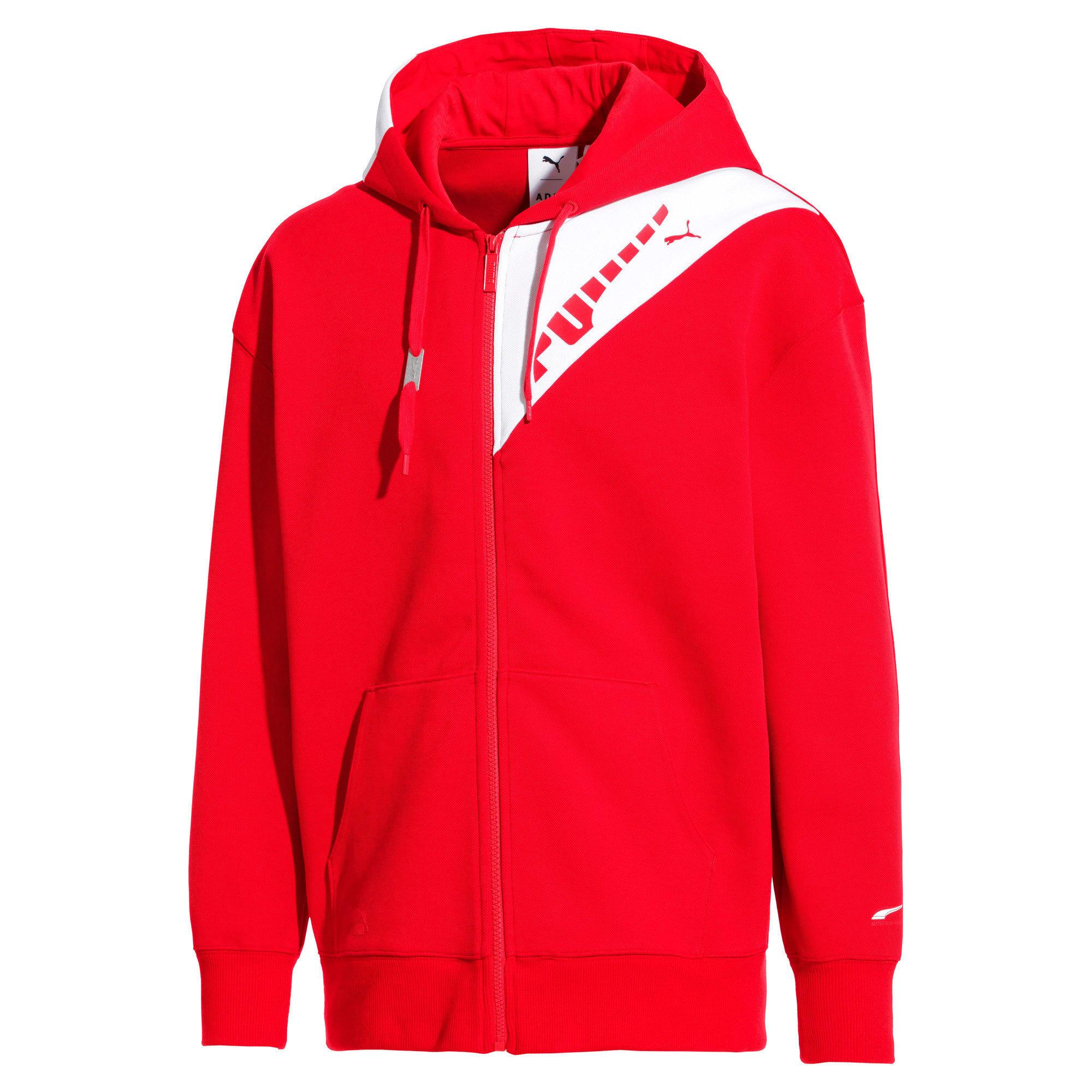Thumbnail 1 van PUMA x ADER ERROR hoodie met rits, Puma Red, medium