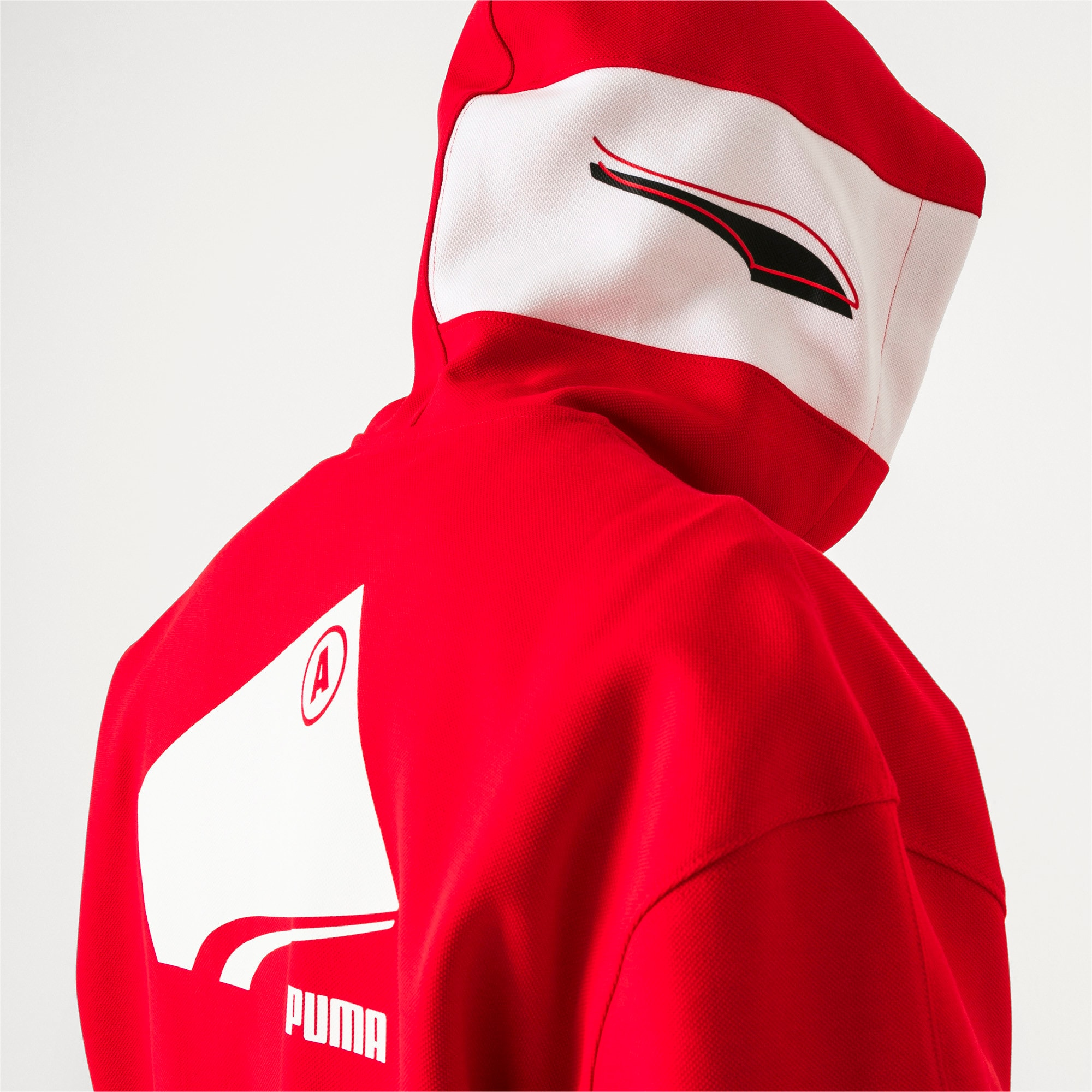 Thumbnail 3 van PUMA x ADER ERROR hoodie met rits, Puma Red, medium