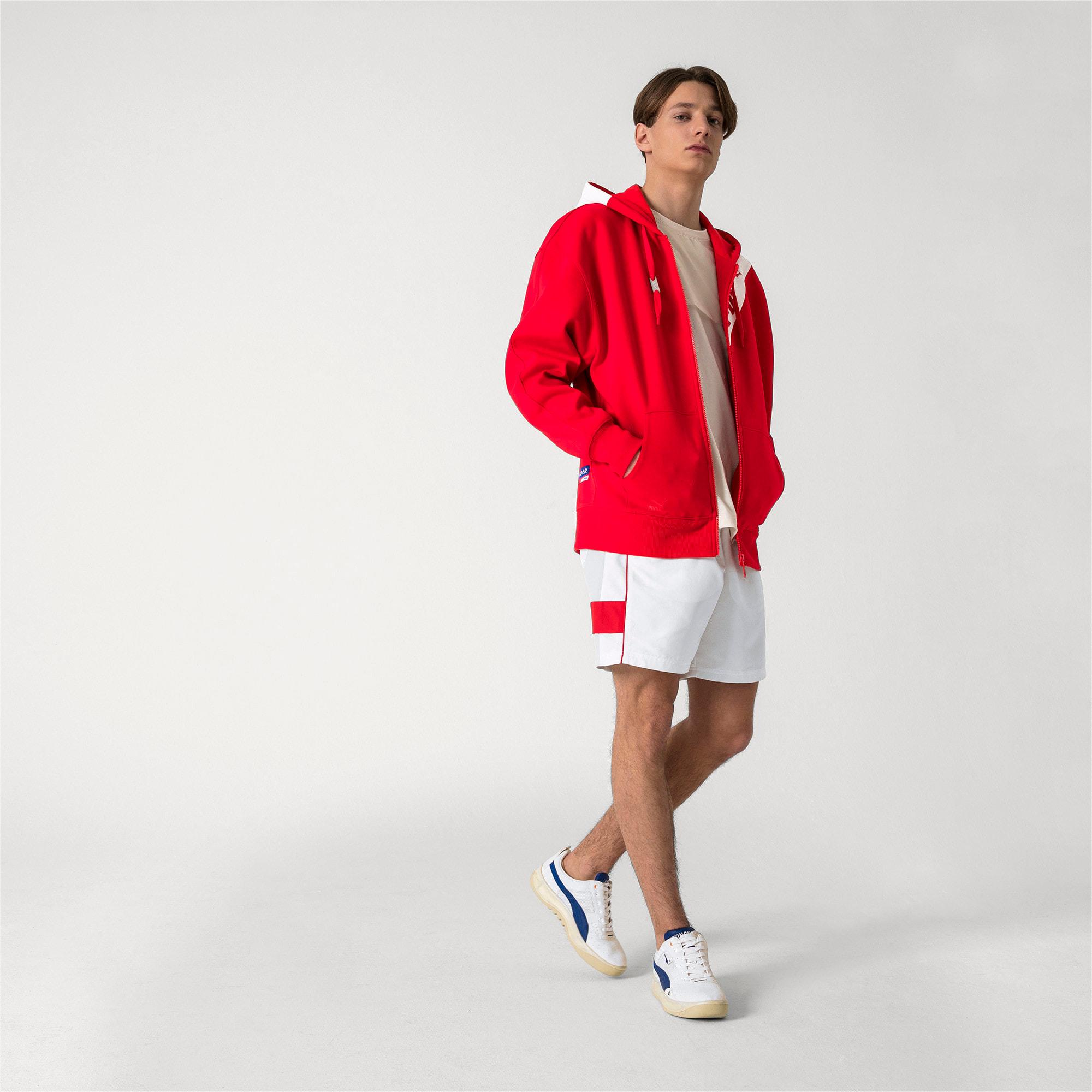 Thumbnail 5 van PUMA x ADER ERROR hoodie met rits, Puma Red, medium