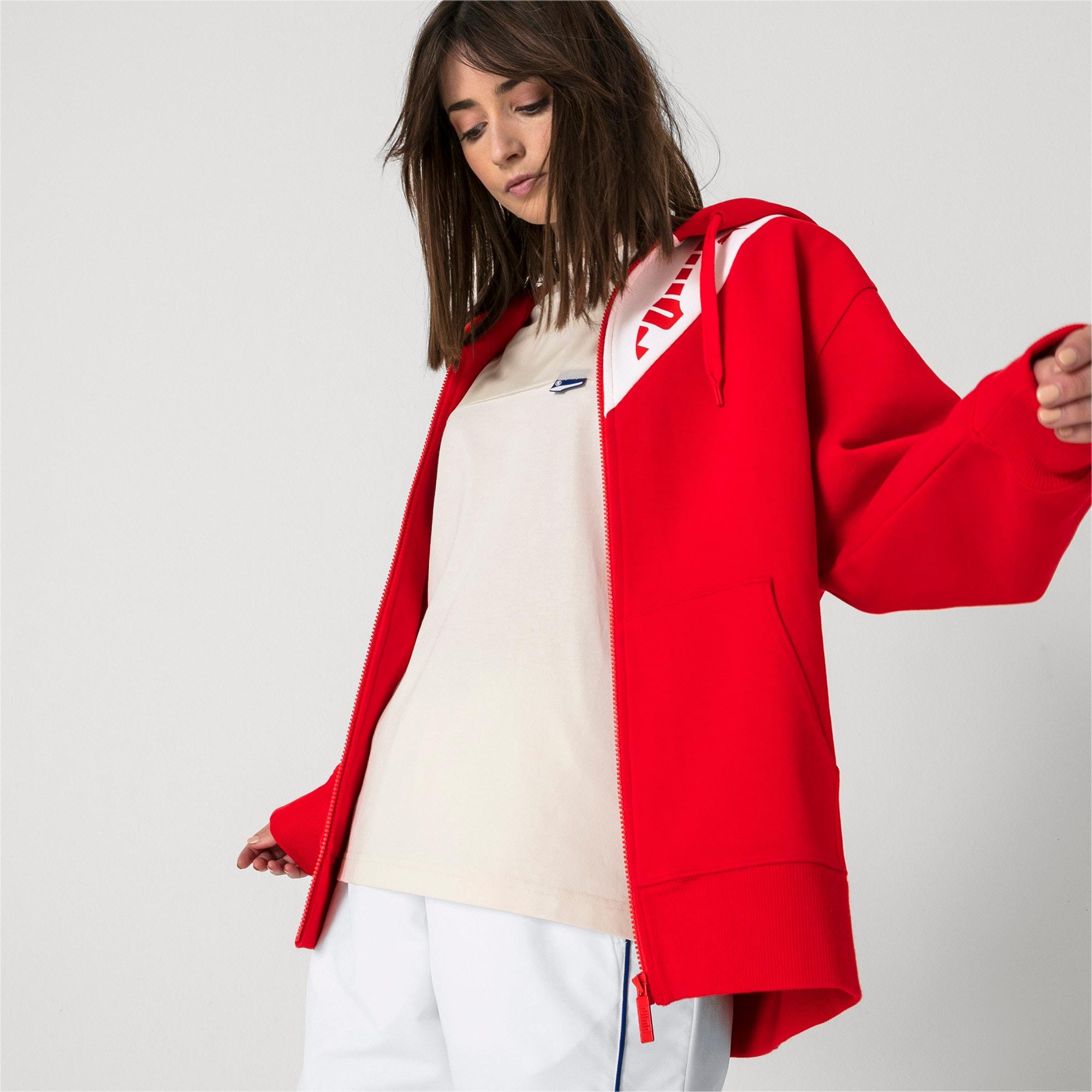 Thumbnail 6 van PUMA x ADER ERROR hoodie met rits, Puma Red, medium