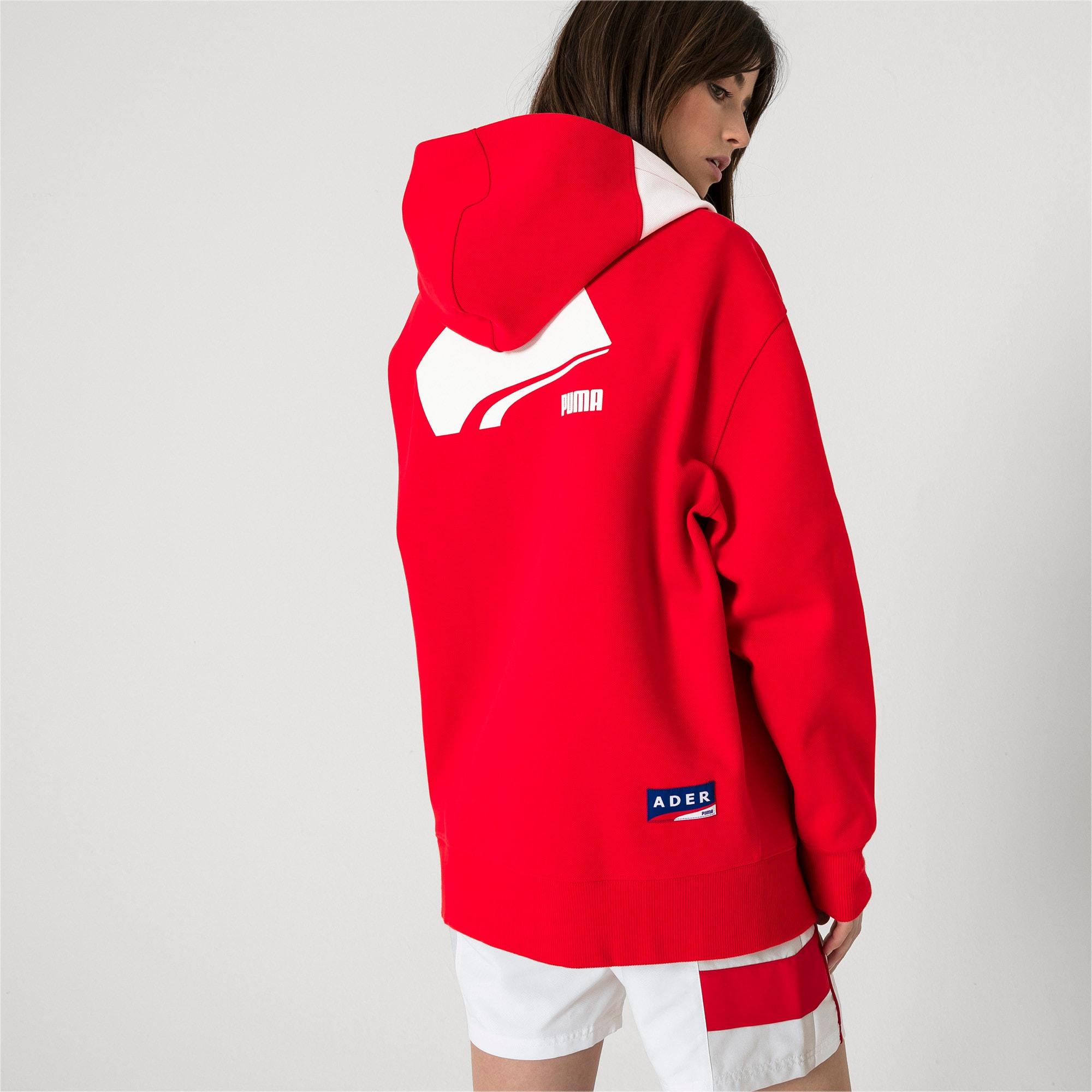 Thumbnail 7 van PUMA x ADER ERROR hoodie met rits, Puma Red, medium