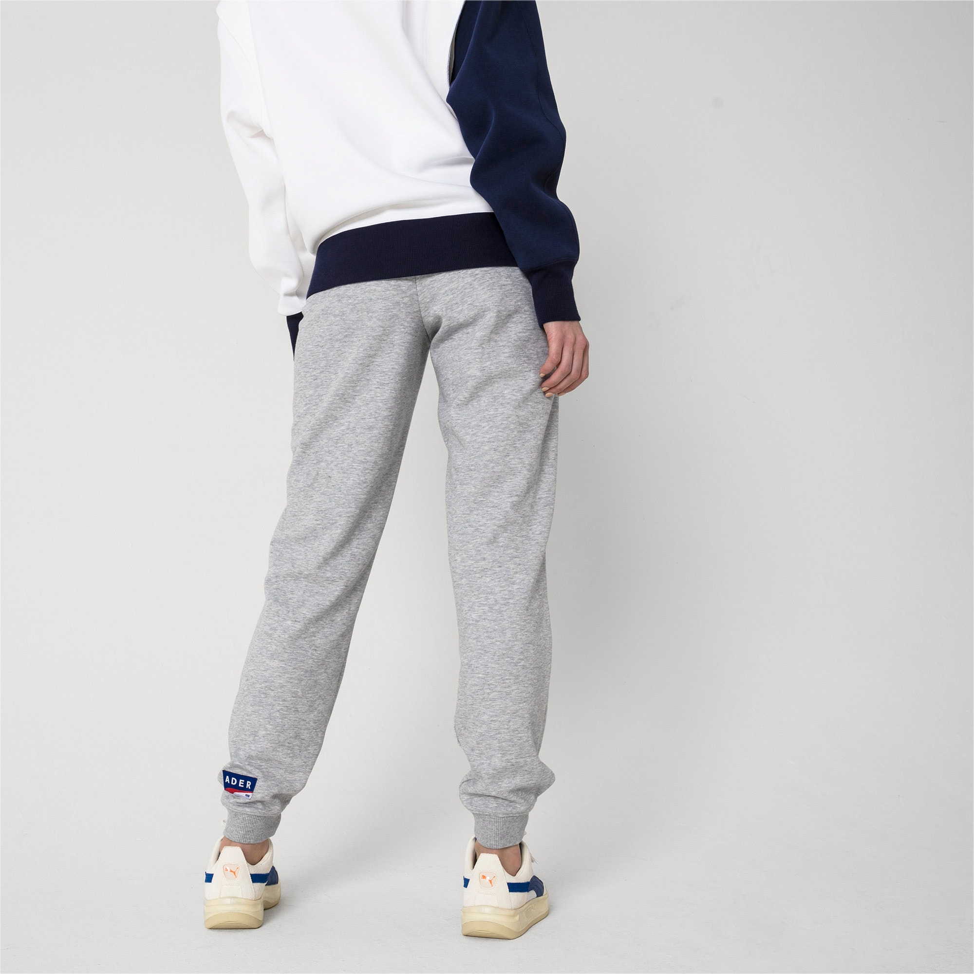Thumbnail 7 of PUMA x ADER ERROR Strick Sweatpants, Light Gray Heather, medium