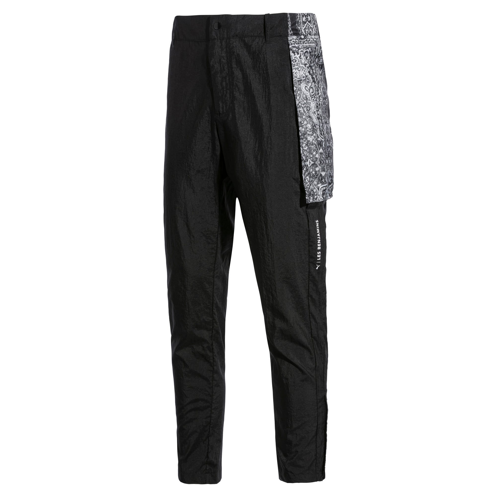 Thumbnail 1 of PUMA x LES BENJAMINS Men's Track Pants, Puma Black, medium