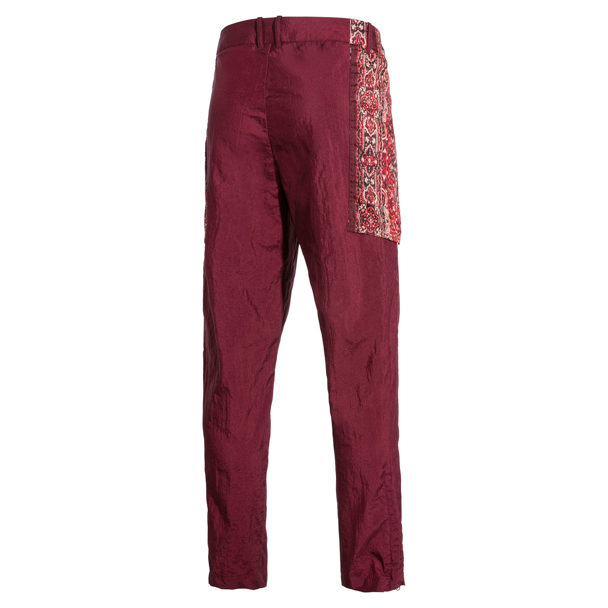 Thumbnail 6 of PUMA x LES BENJAMINS trainingsbroek voor heren, Burgundy, medium