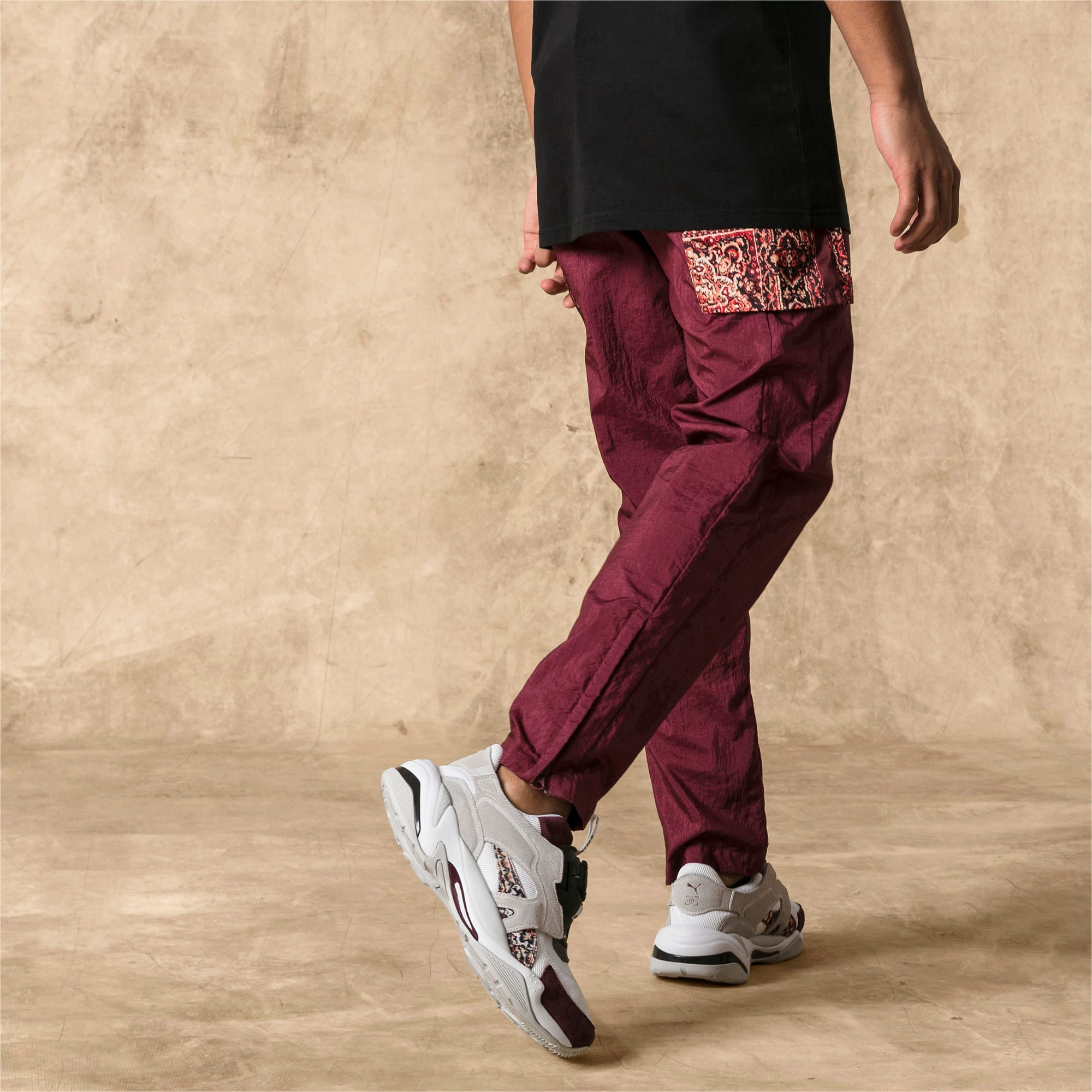 Thumbnail 2 of PUMA x LES BENJAMINS trainingsbroek voor heren, Burgundy, medium