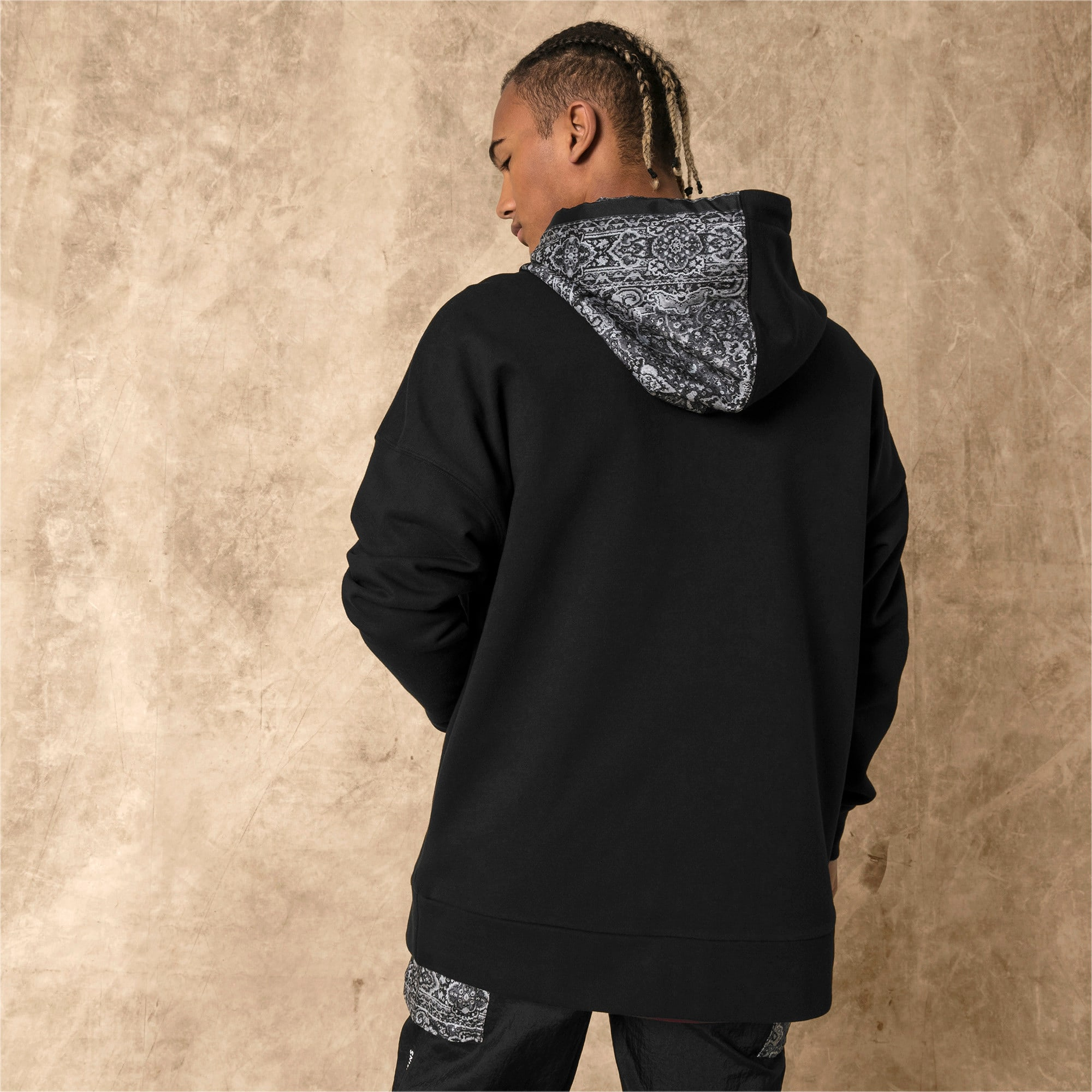 Thumbnail 3 of PUMA x LES BENJAMINS Men's Hoodie, Puma Black, medium