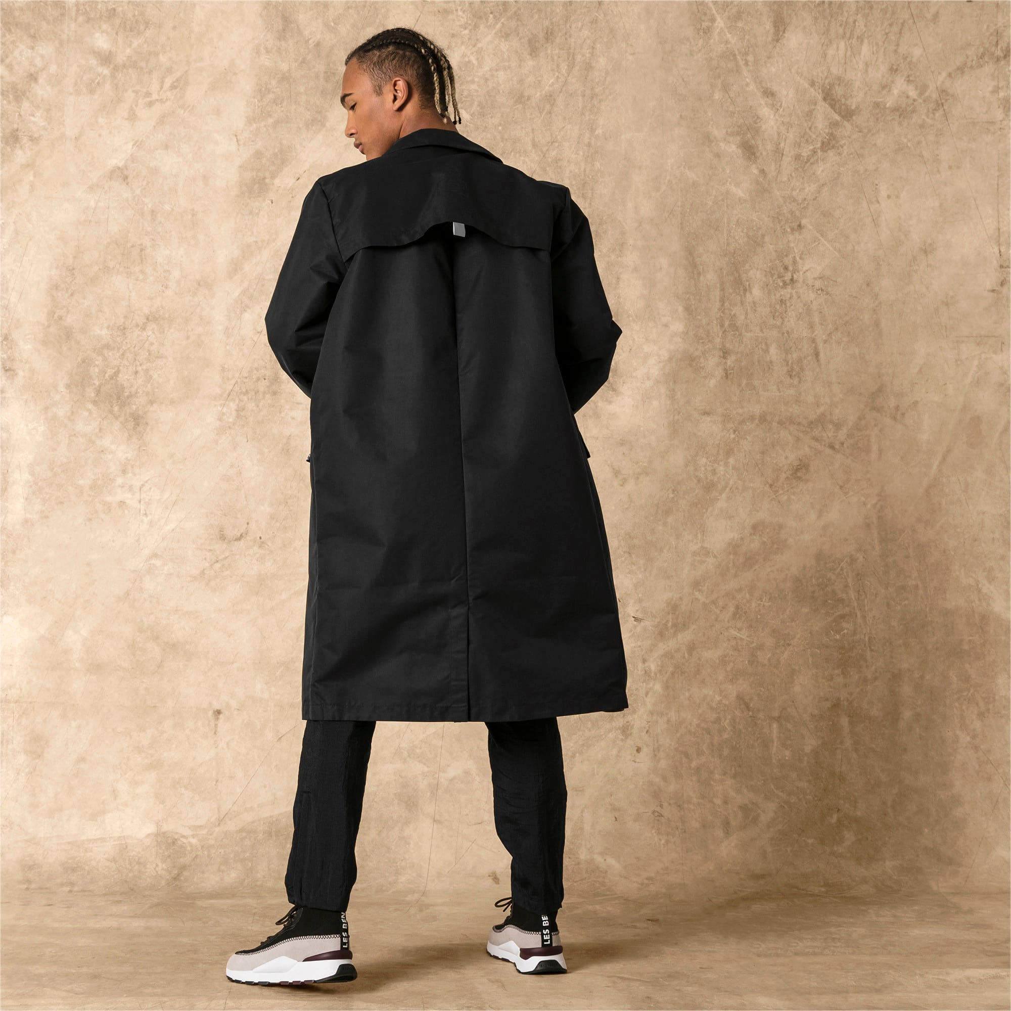 Thumbnail 2 of PUMA x LES BENJAMINS Men's Parka, Puma Black, medium