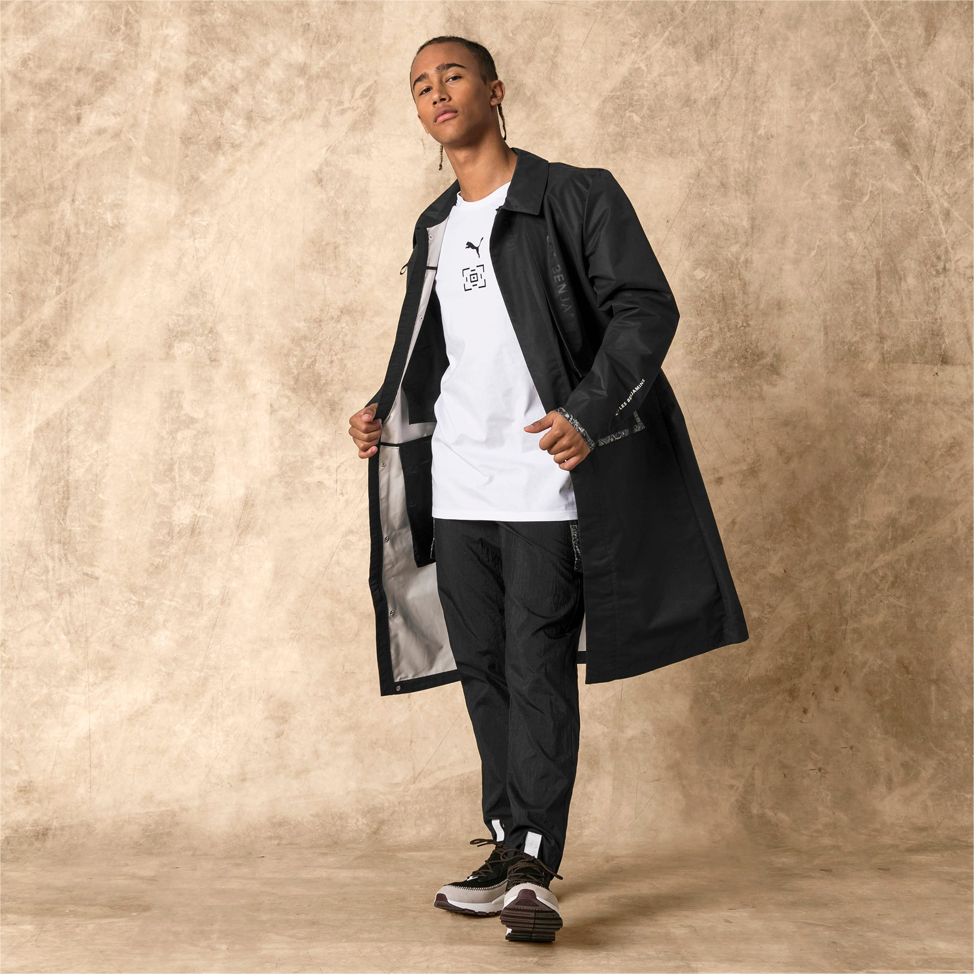 Thumbnail 4 of PUMA x LES BENJAMINS Men's Parka, Puma Black, medium