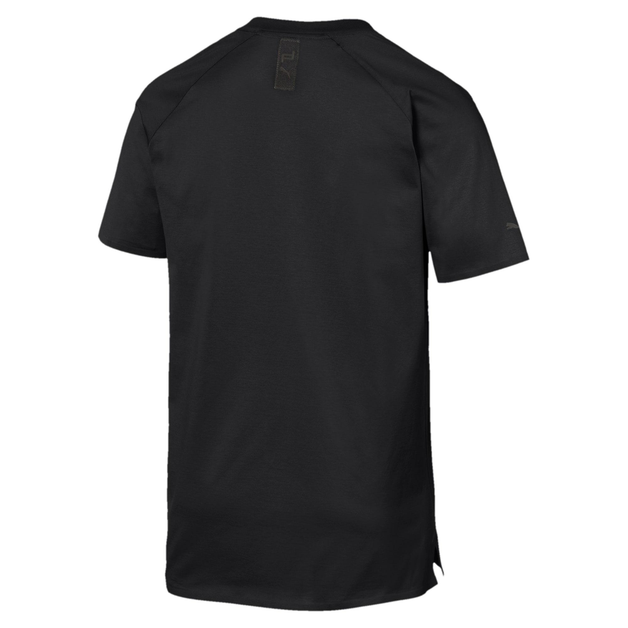 Thumbnail 3 of PORSCHE DESIGN  ライフ Tシャツ, Jet Black, medium-JPN