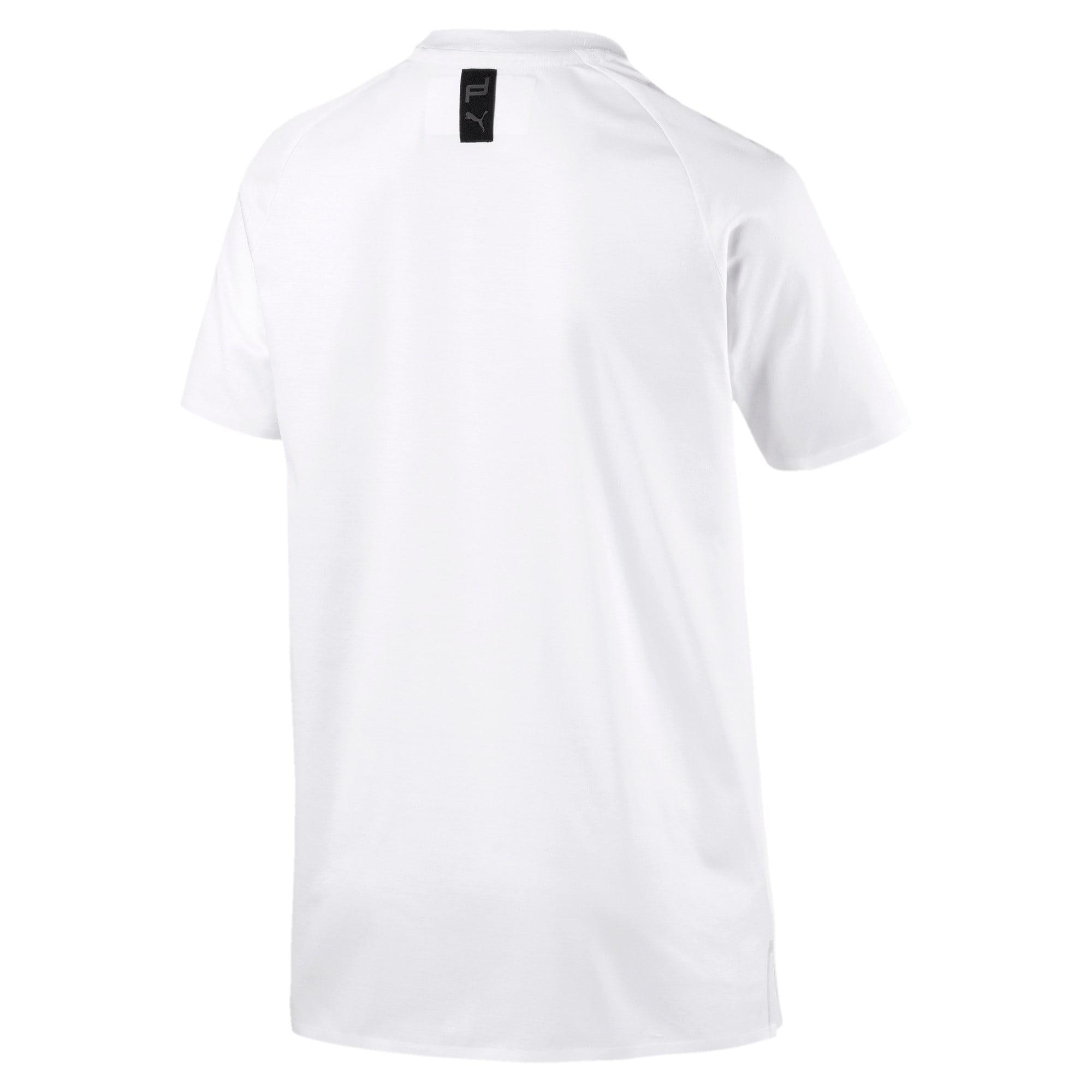 Thumbnail 3 of PORSCHE DESIGN  ライフ Tシャツ, Puma White, medium-JPN