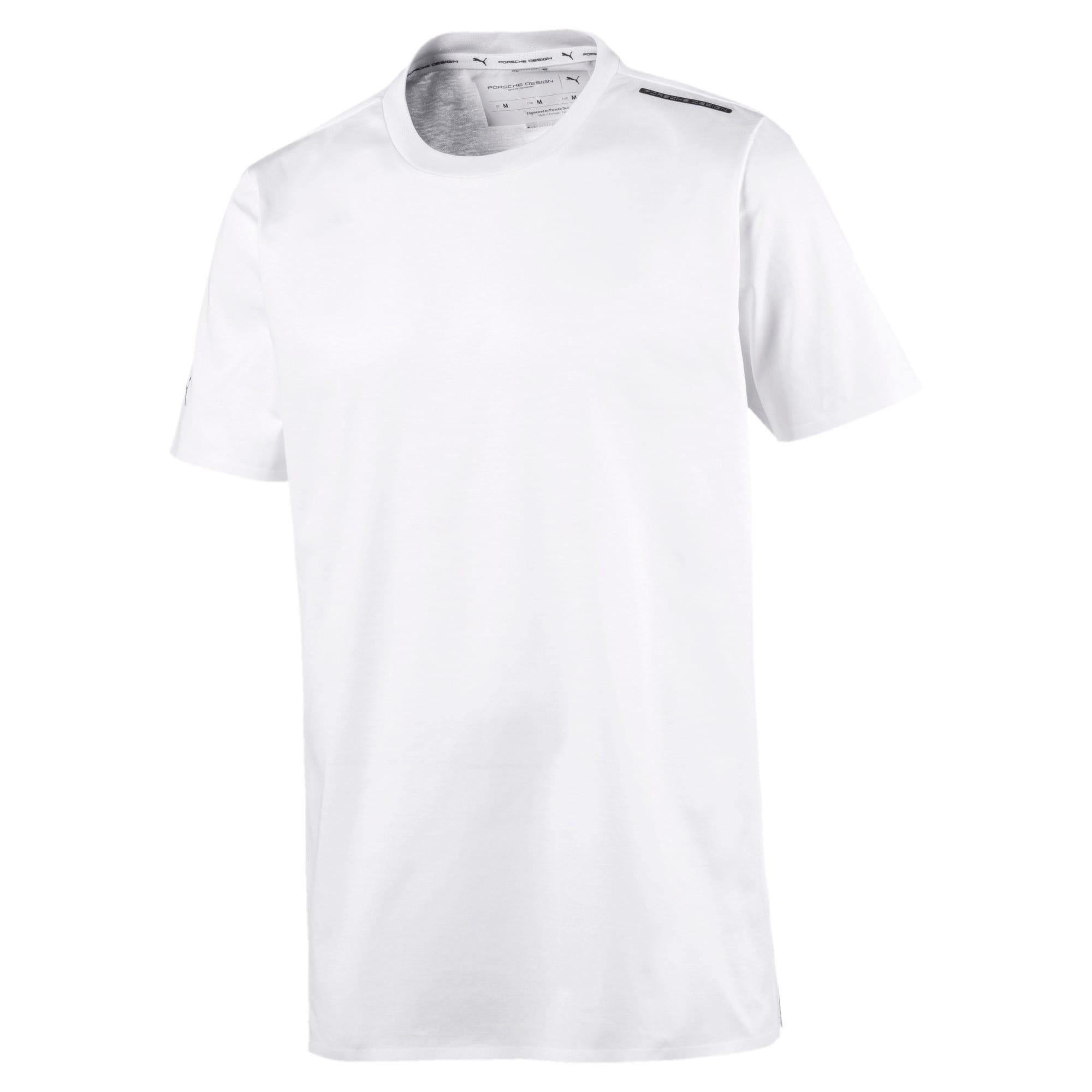 Thumbnail 1 of PORSCHE DESIGN  ライフ Tシャツ, Puma White, medium-JPN