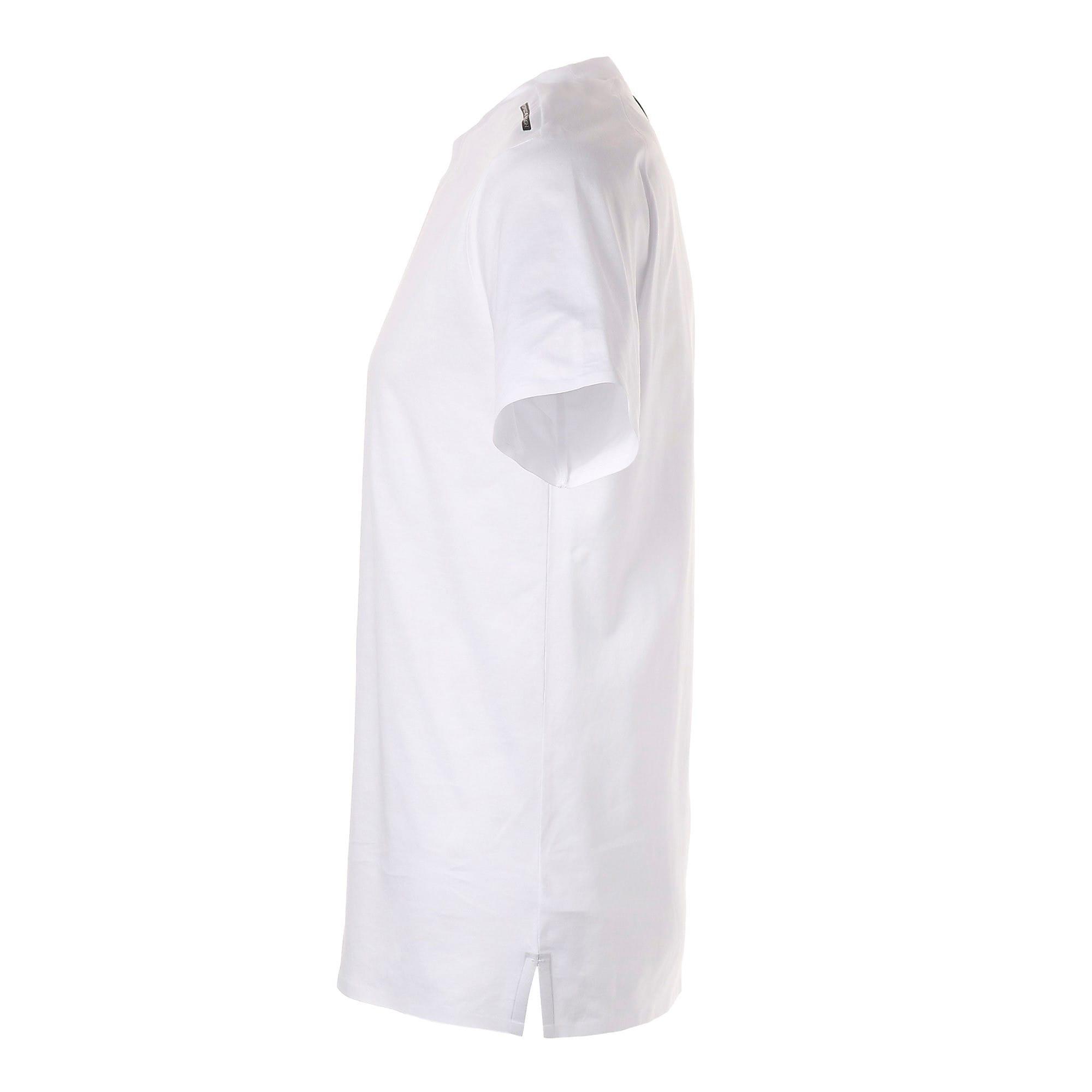 Thumbnail 2 of PORSCHE DESIGN  ライフ Tシャツ, Puma White, medium-JPN