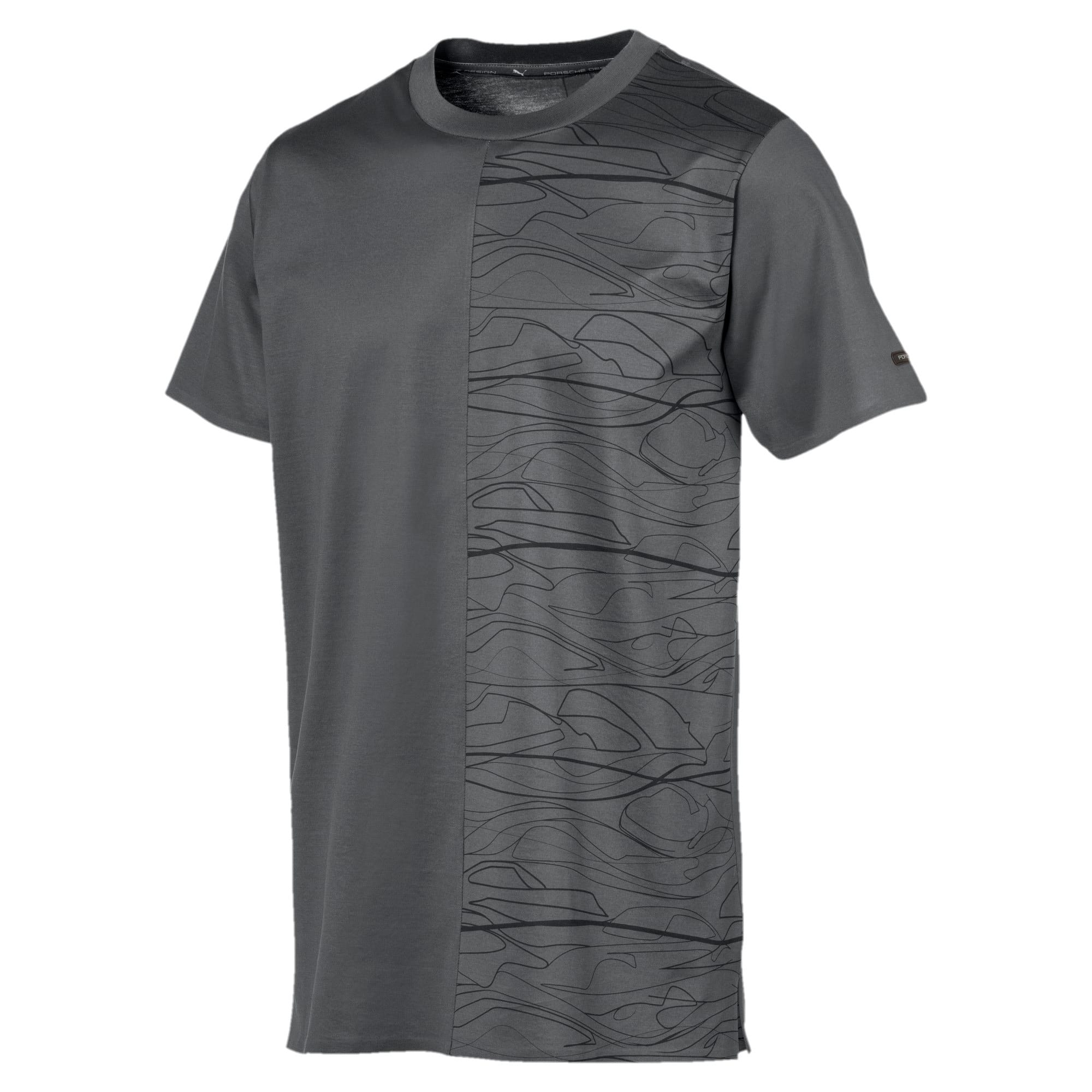Thumbnail 1 of PORSCHE DESIGN  グラフィック Tシャツ, Asphalt, medium-JPN