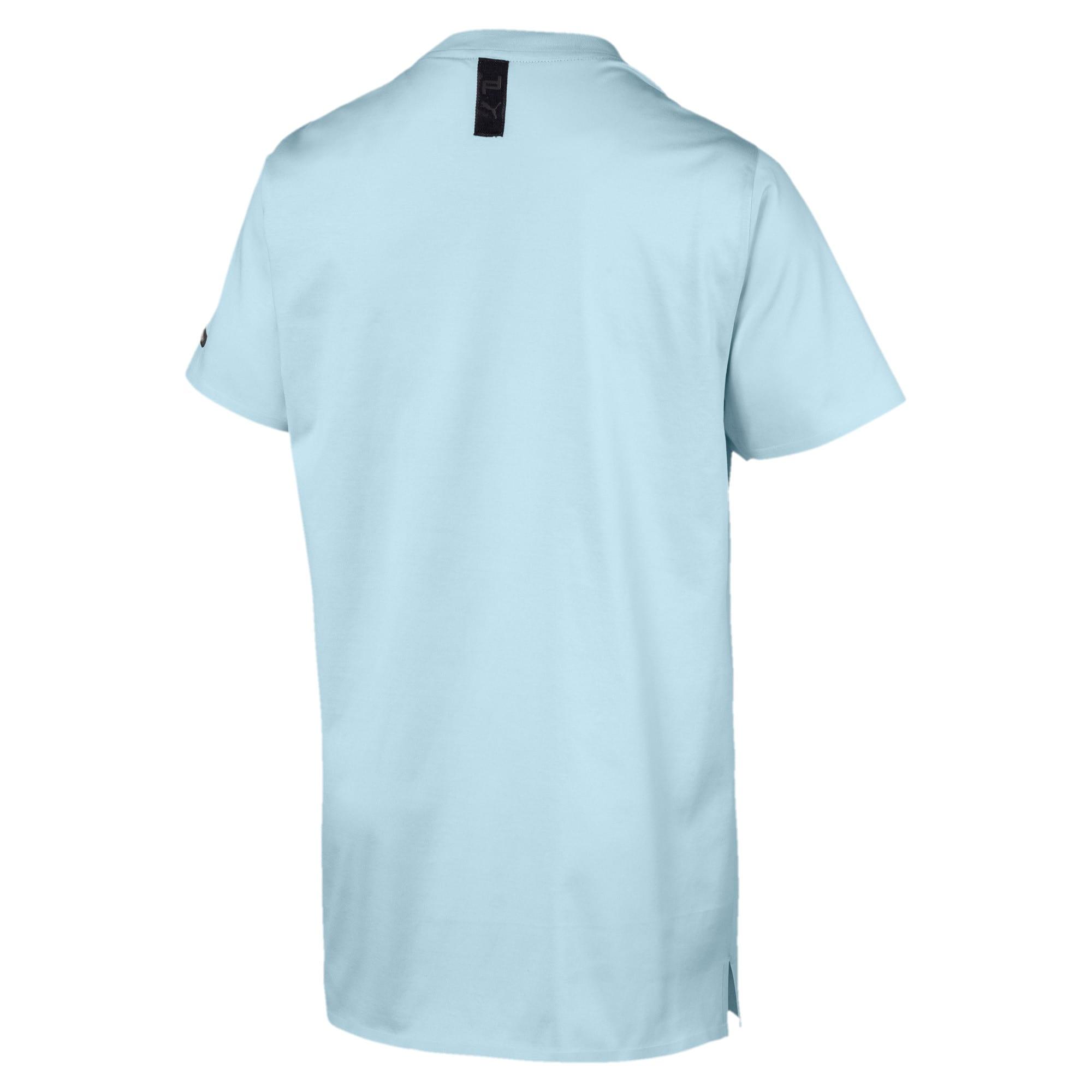 Thumbnail 3 of PORSCHE DESIGN  グラフィック Tシャツ, Light Sky, medium-JPN
