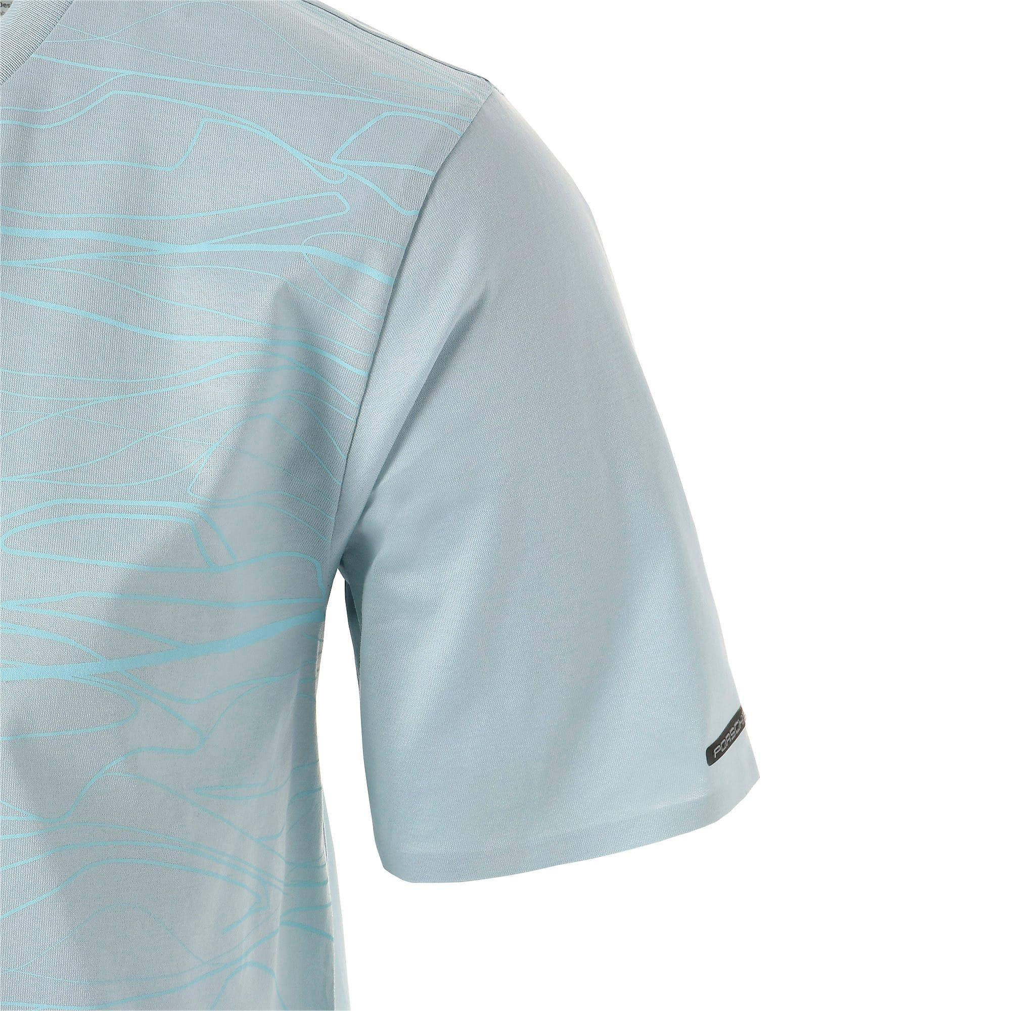 Thumbnail 5 of PORSCHE DESIGN  グラフィック Tシャツ, Light Sky, medium-JPN