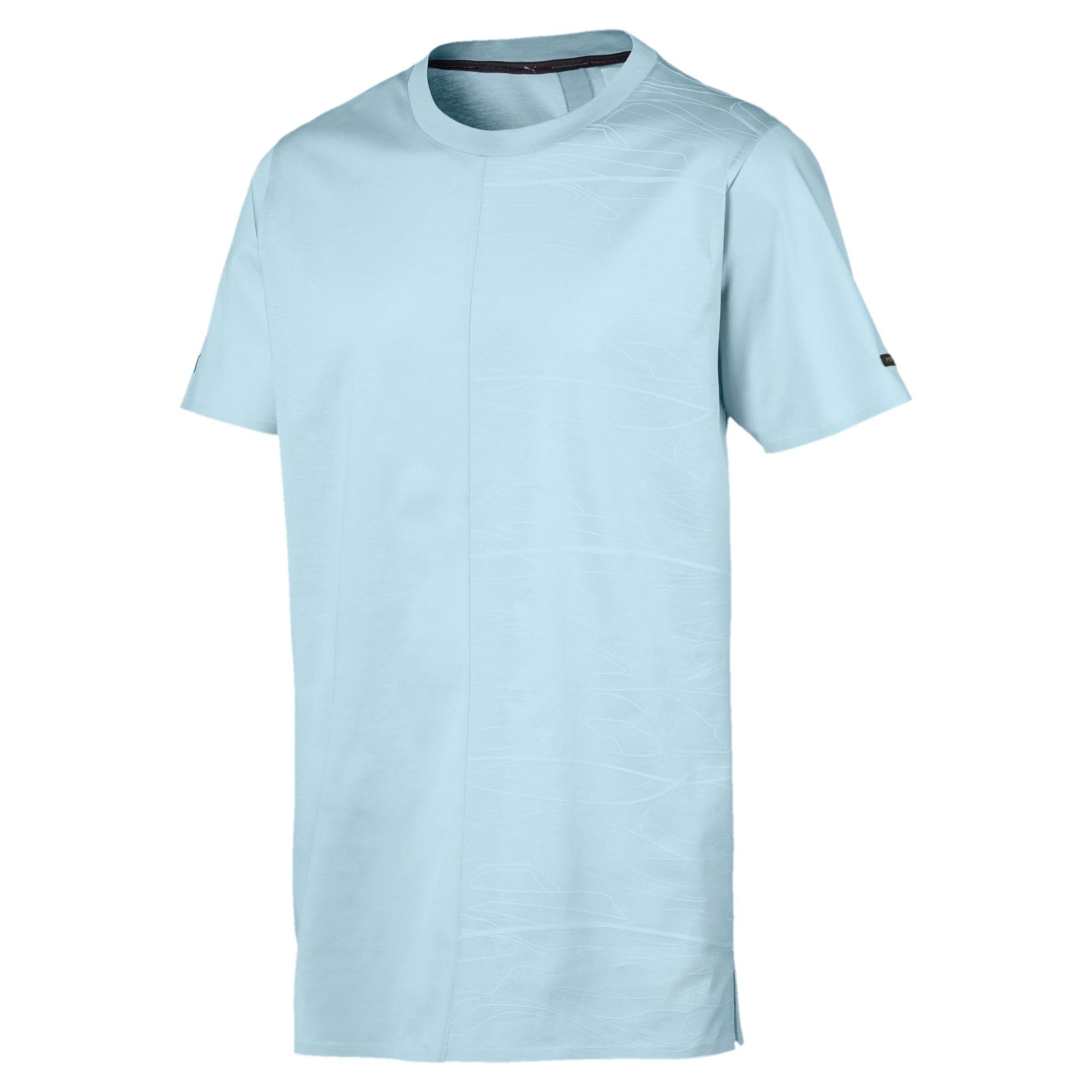 Thumbnail 1 of PORSCHE DESIGN  グラフィック Tシャツ, Light Sky, medium-JPN