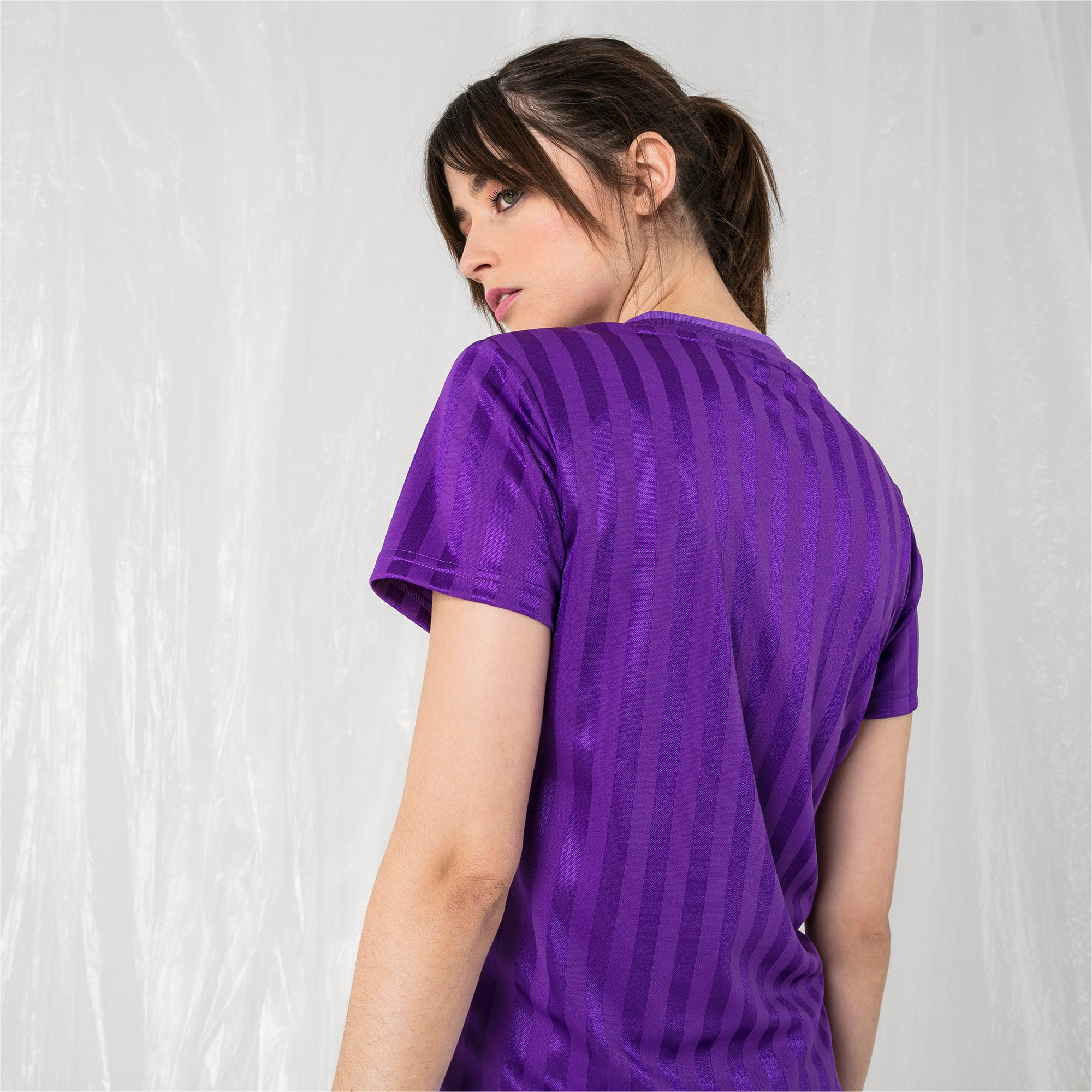 Thumbnail 3 of PUMA x SANKUANZ Women's Jersey Tee, ELECTRIC PURPLE, medium