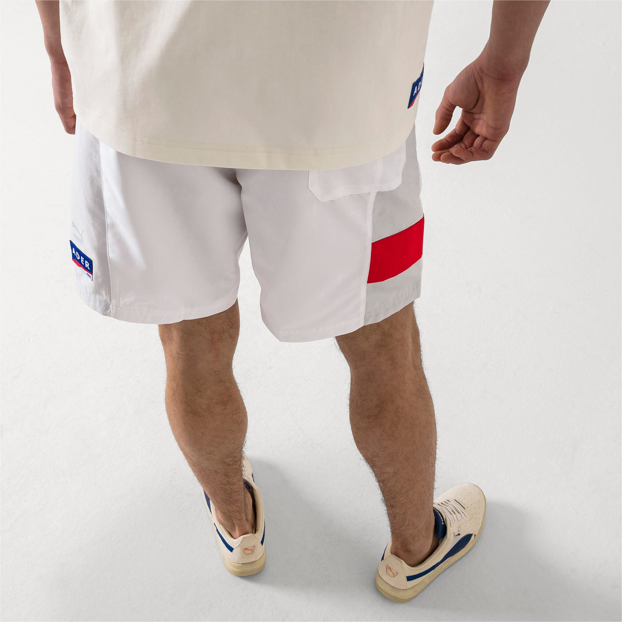 Thumbnail 3 of PUMA x ADER ERROR Shorts, Puma White, medium