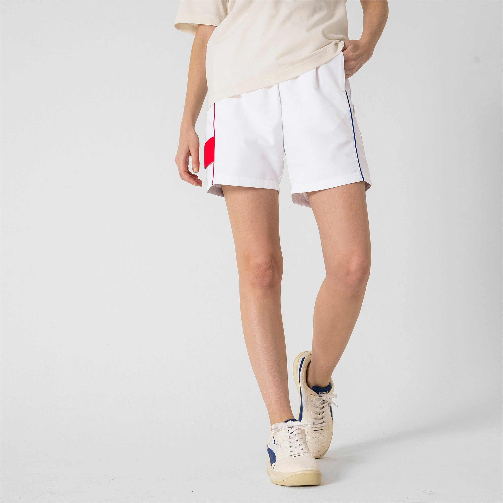 Thumbnail 6 of PUMA x ADER ERROR Shorts, Puma White, medium