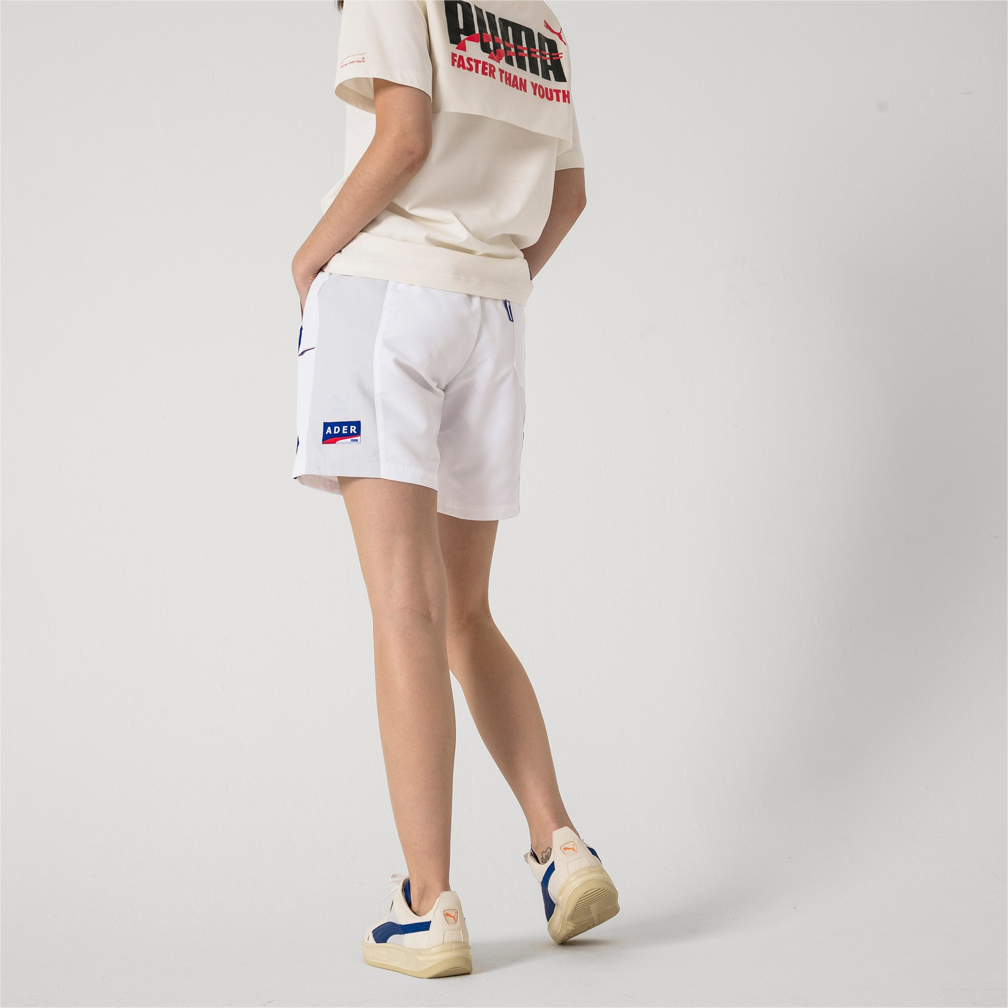 Thumbnail 7 of PUMA x ADER ERROR Shorts, Puma White, medium