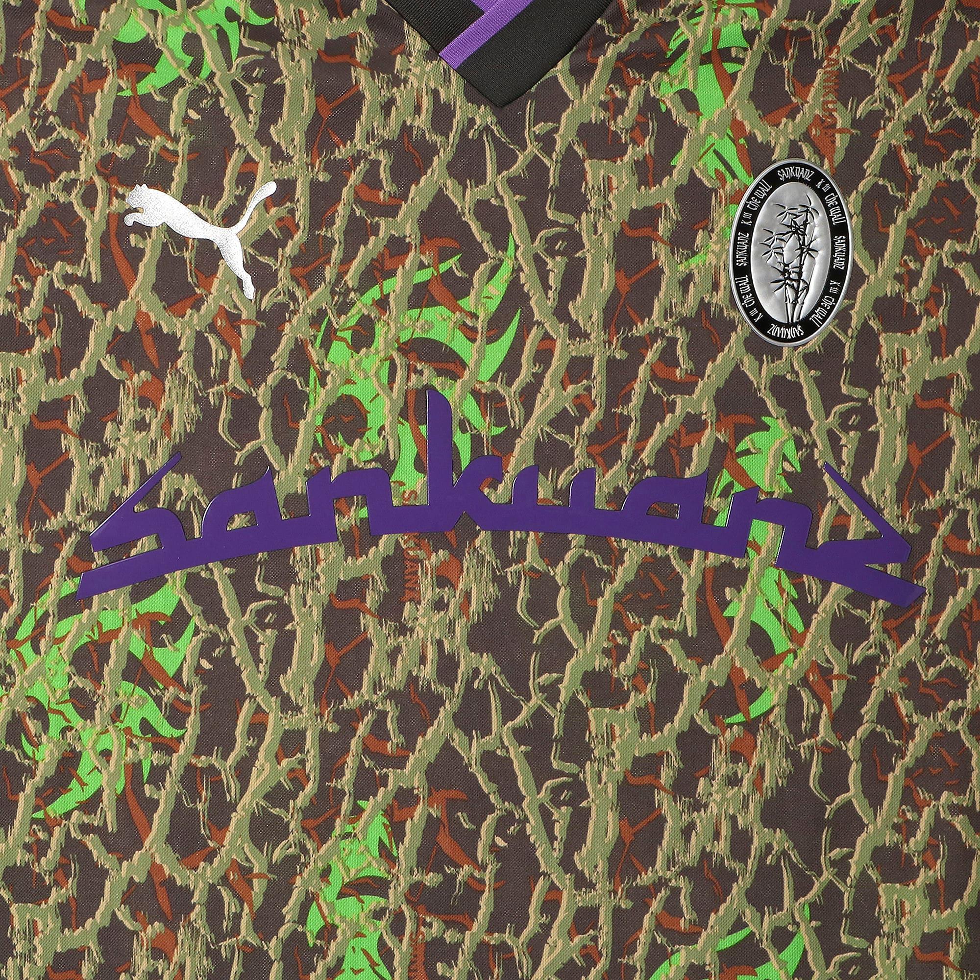 Thumbnail 11 of PUMA x SANKUANZ TEE, -Fluro green, medium-JPN