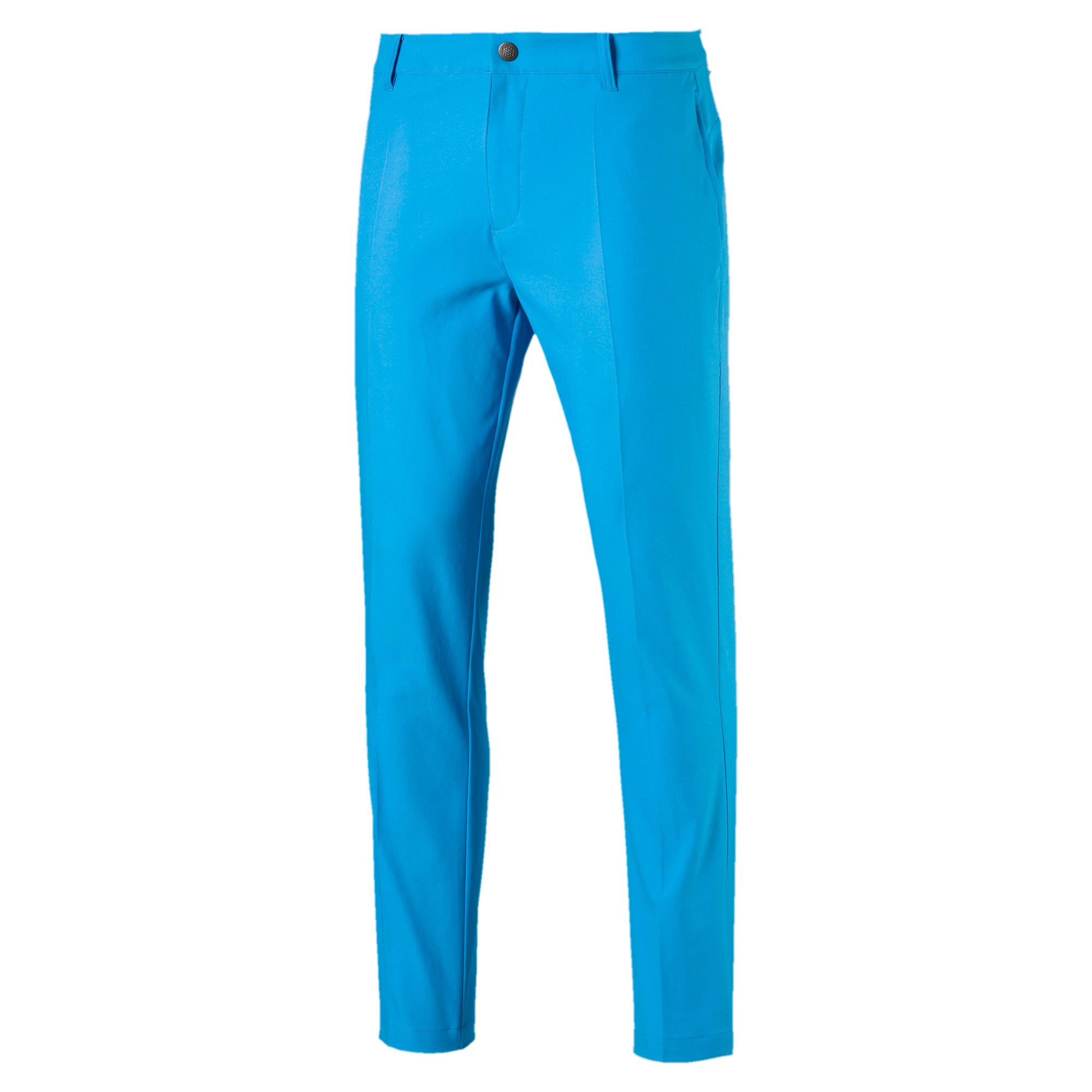 Thumbnail 4 of Afkledende geweven Jackpot golfbroek voor heren, Bleu Azur, medium