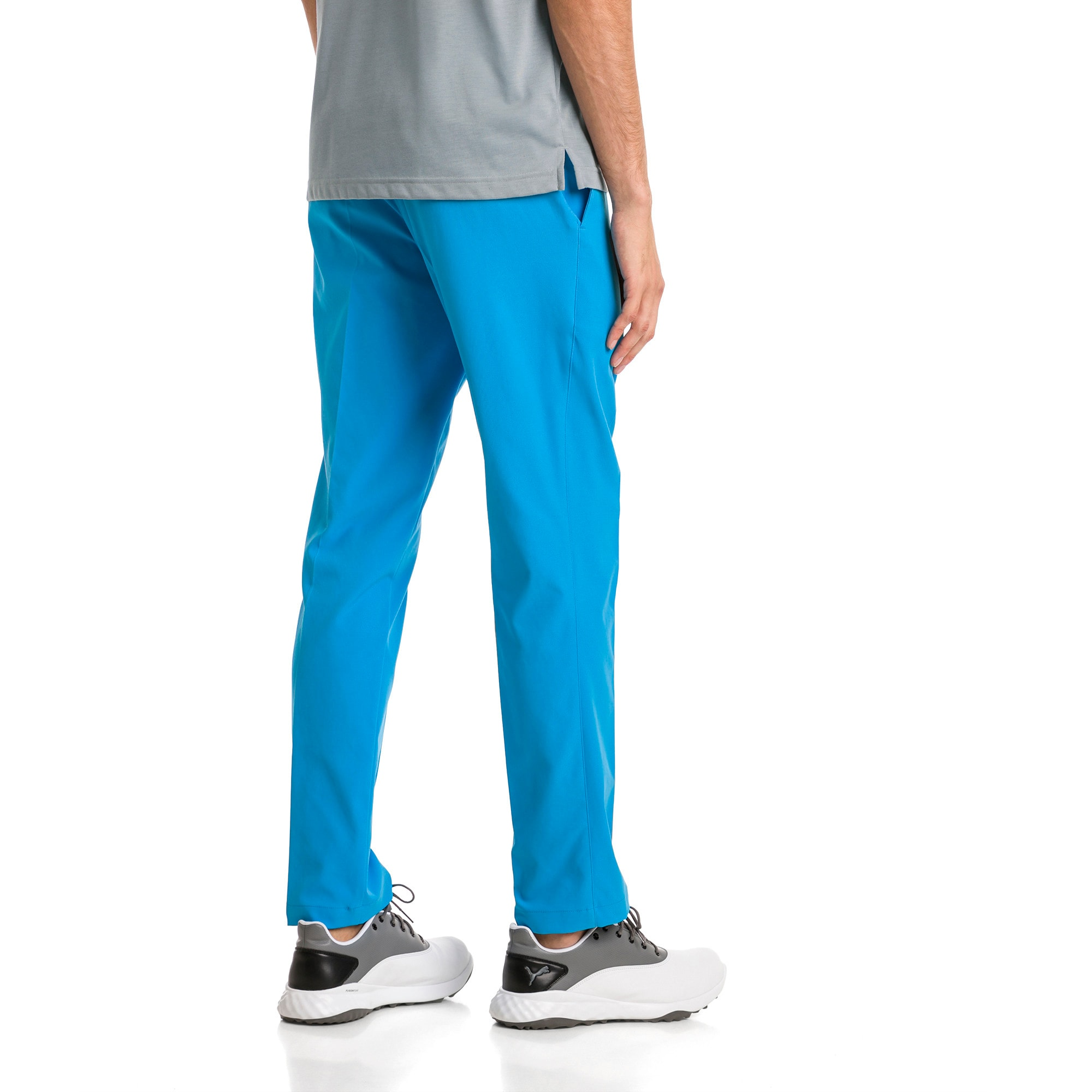 Thumbnail 2 of Afkledende geweven Jackpot golfbroek voor heren, Bleu Azur, medium