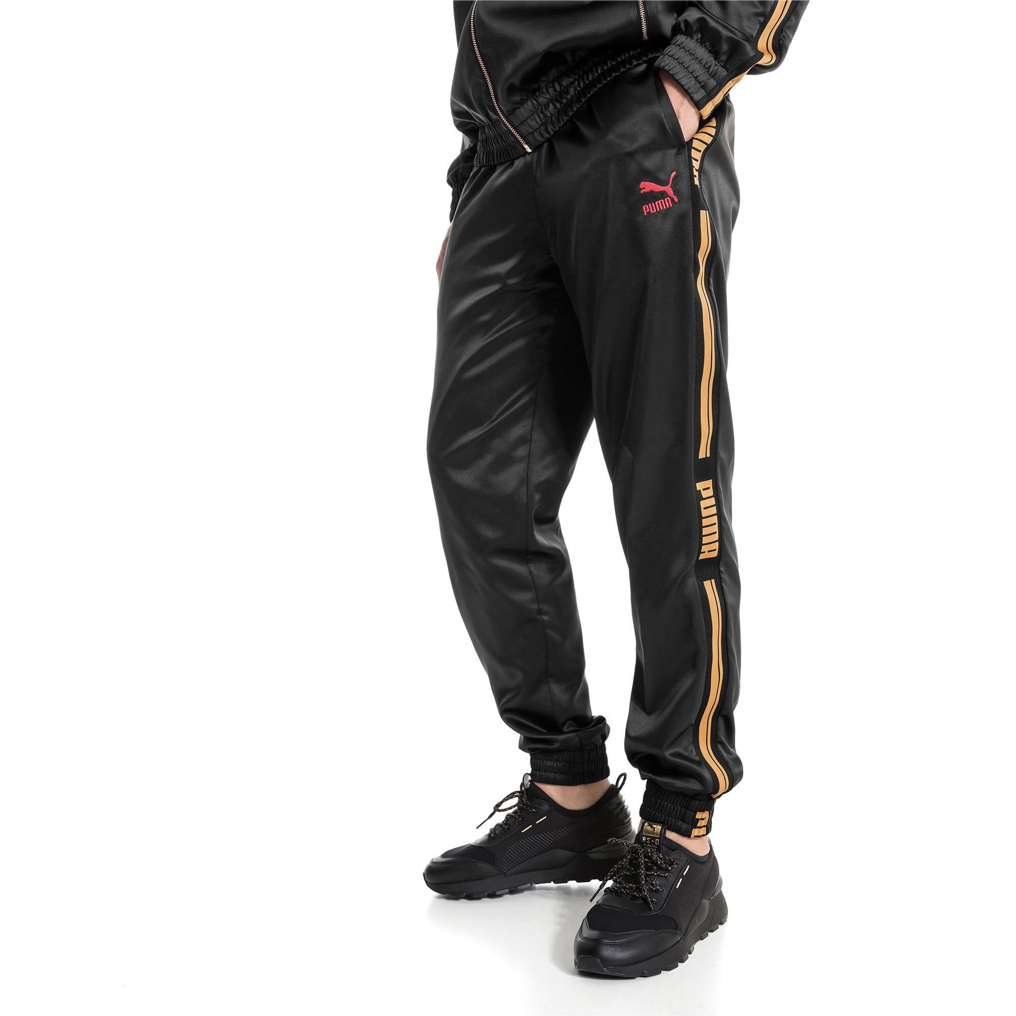 Thumbnail 2 of LUXE PACK Track Pants, Puma Black, medium