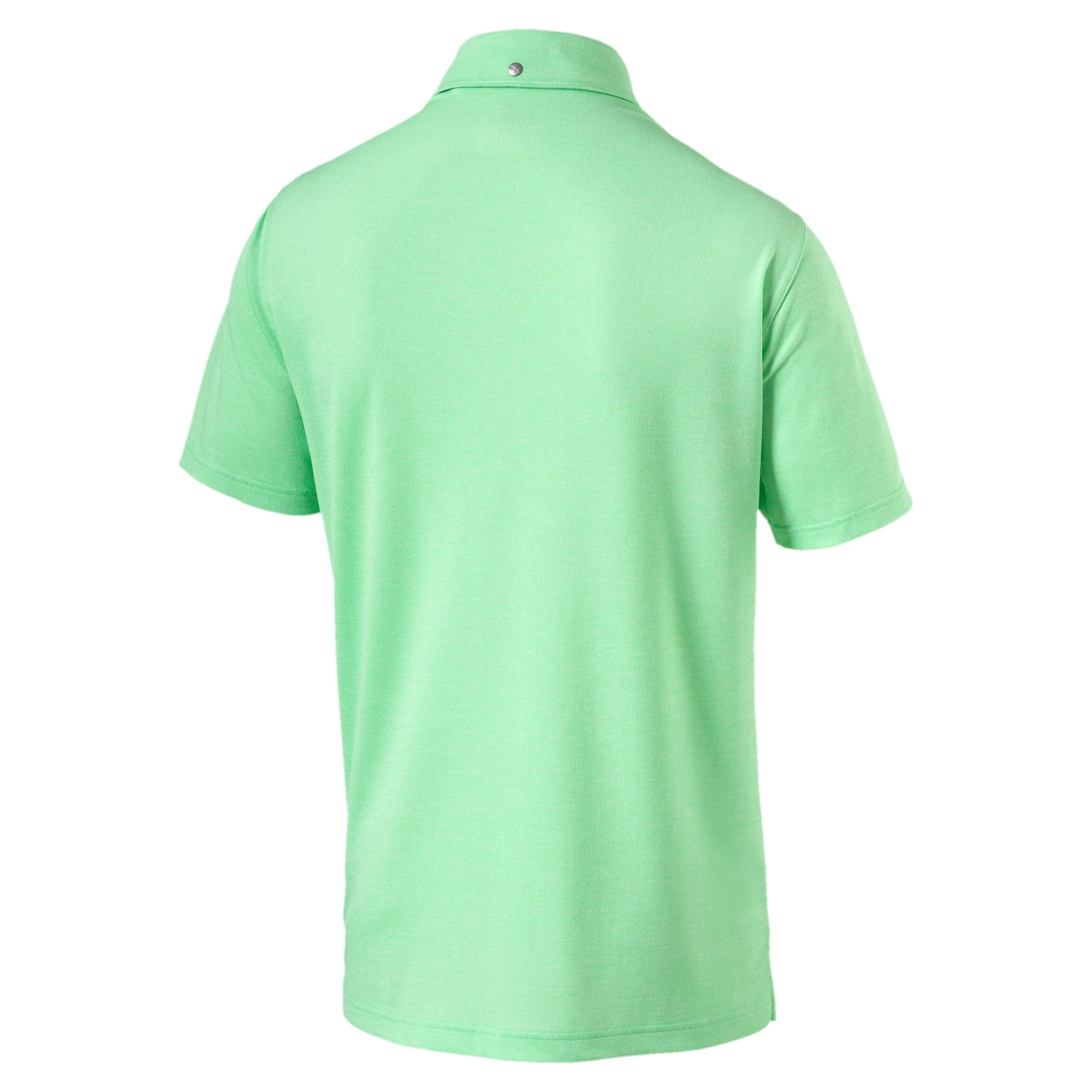 Thumbnail 4 of Grill to Green Men's Golf Polo, Irish Green Heather, medium-IND