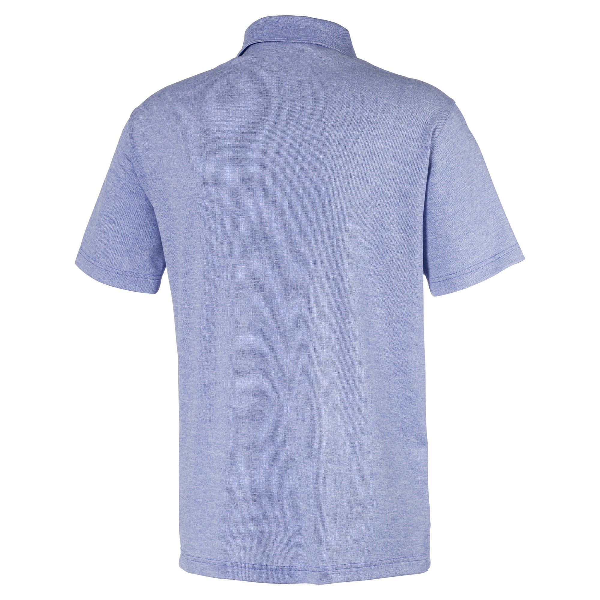 Thumbnail 5 of Grill to Green Men's Golf Polo, Dazzling Blue Heather, medium